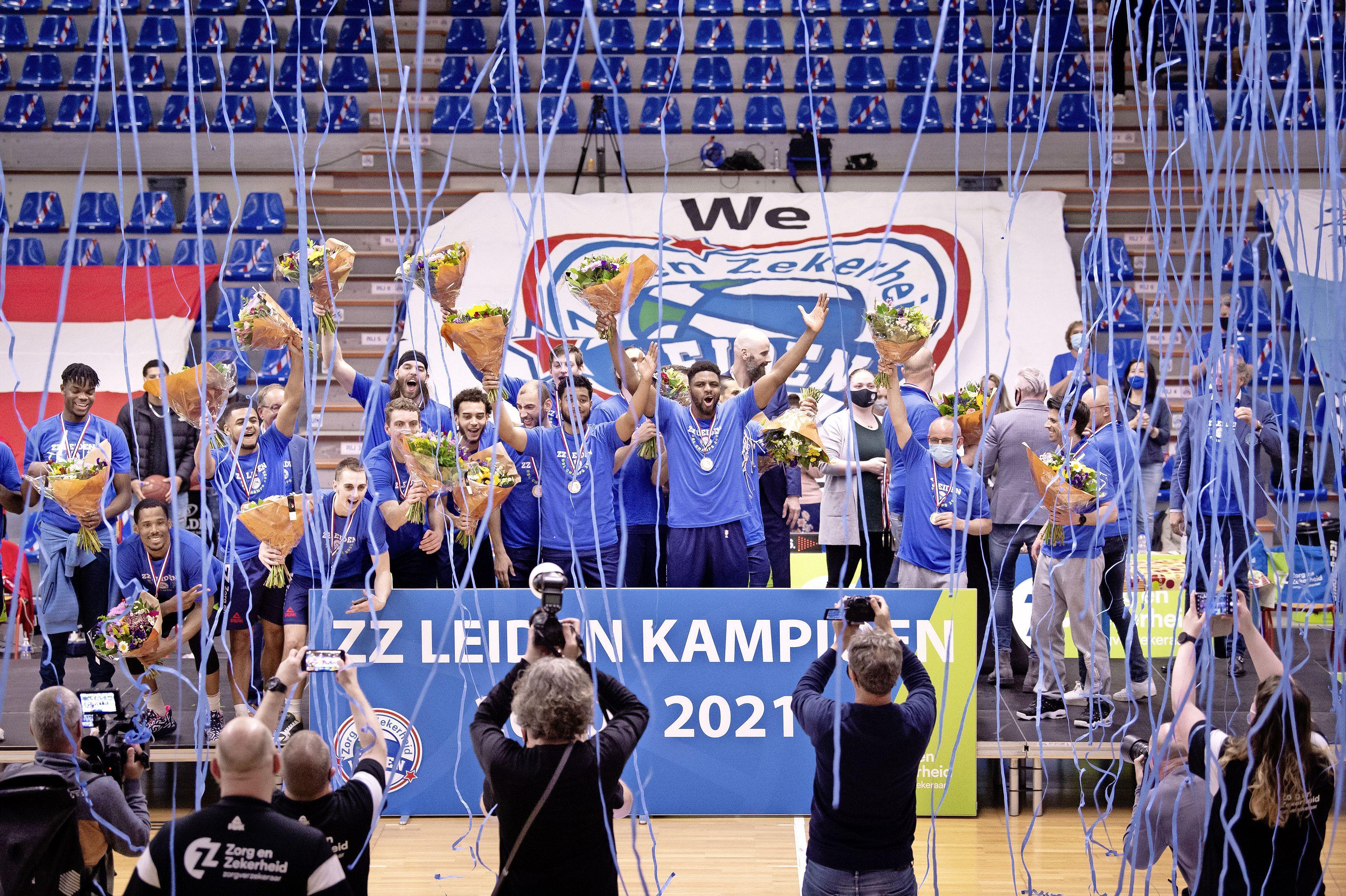 Unieke inschrijving voor ZZ Leiden: basketbalploeg maakt debuut in Champions League