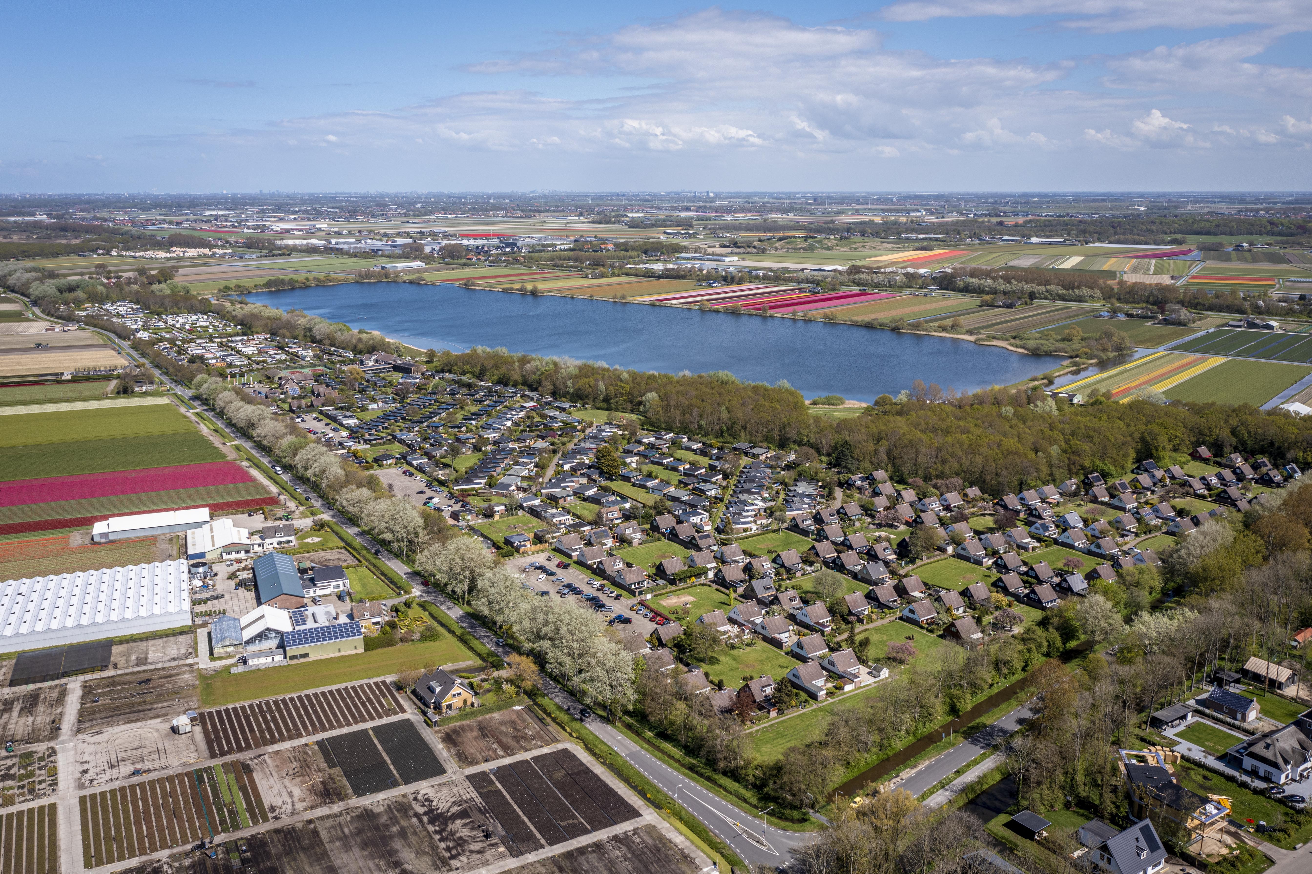 Het Noordwijkerhoutse 'Comomeer', al decennia een recreatieplas in wording