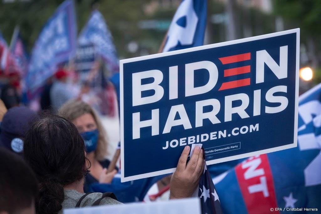 Biden op campagne in Florida, Trump in Pennsylvania