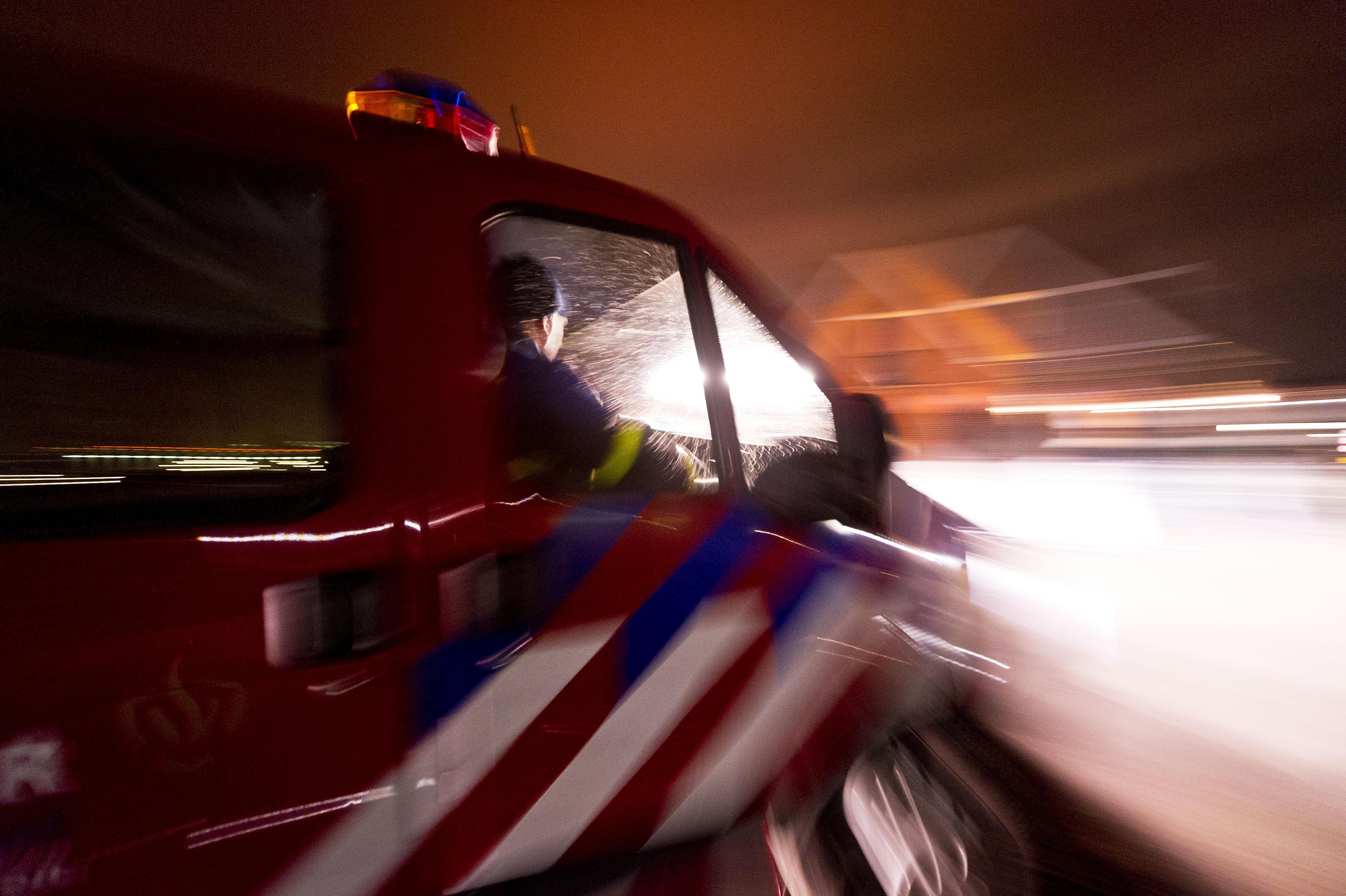 Veel schade bij brand in appartementencomplex Amsterdam