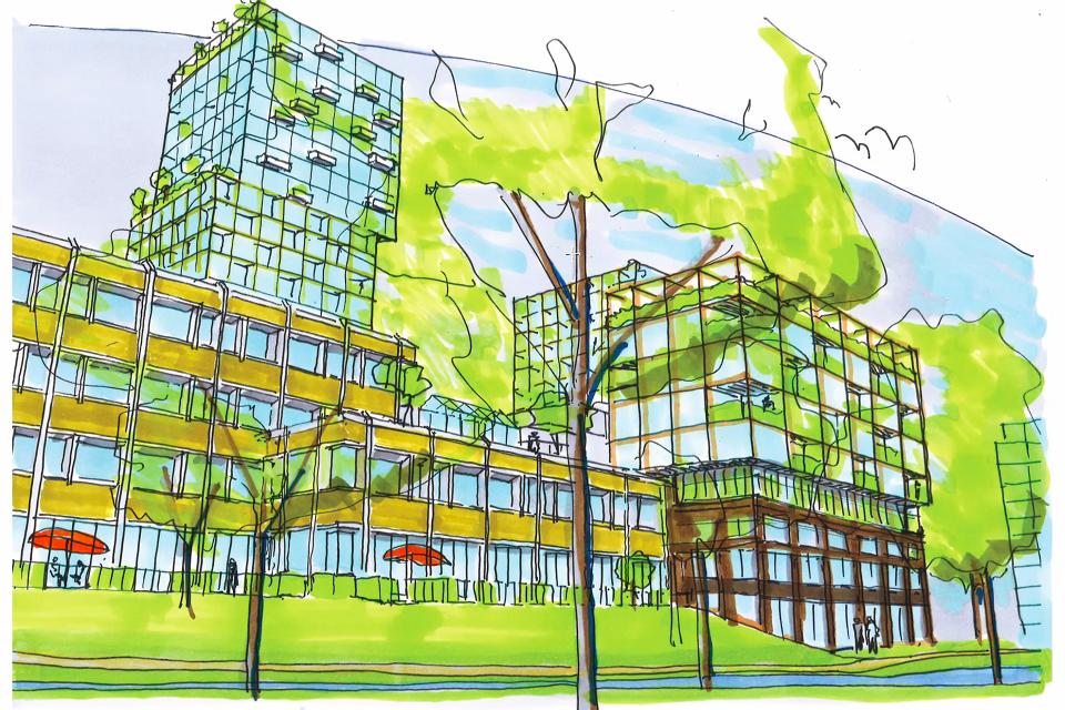 Bockhorst staat voor hernieuwde strijd tegen kantoorpanden die wooncomplexen worden