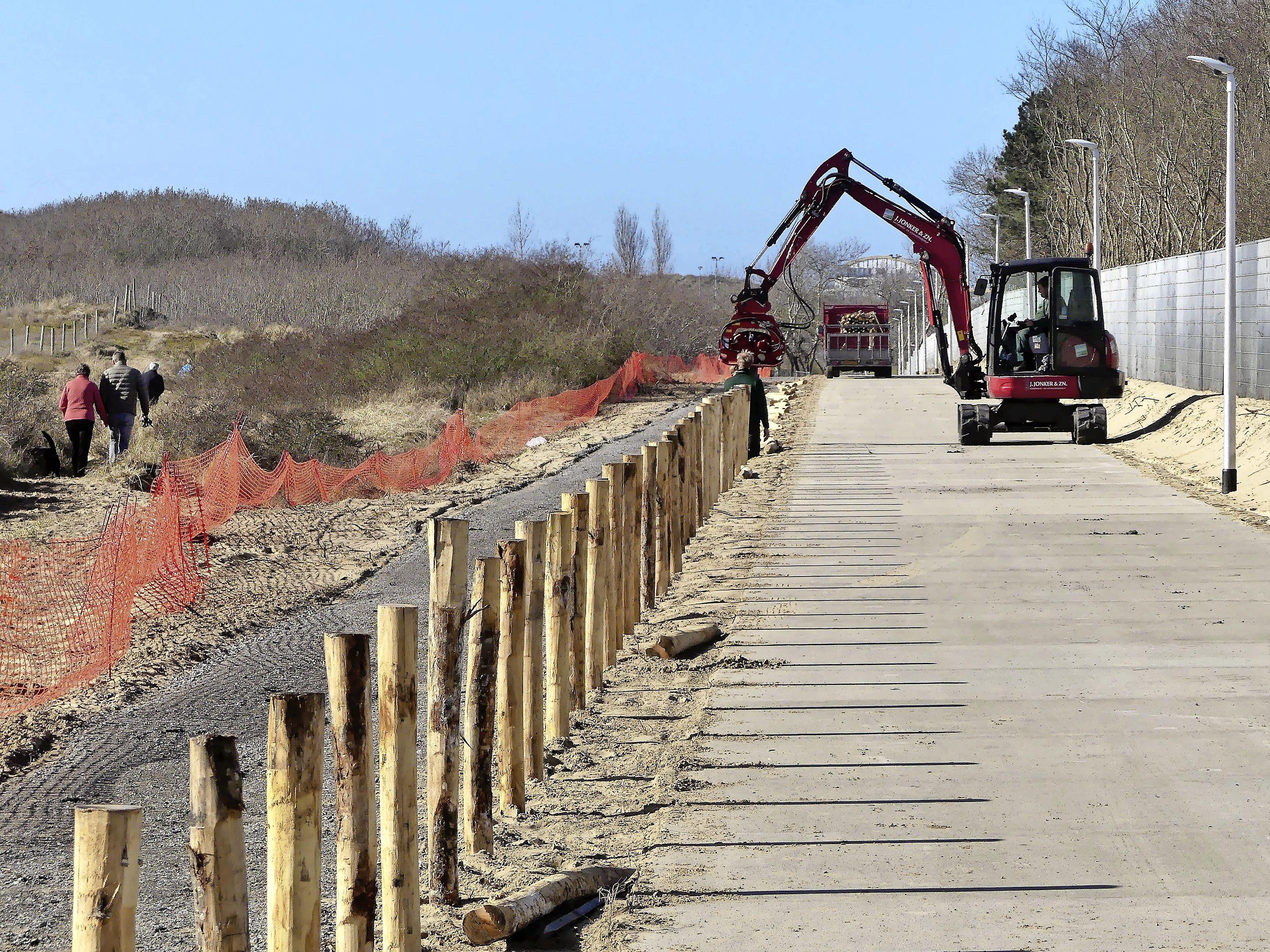 Nieuw fiets- en voetpad door Katwijkse duinen donderdag geopend