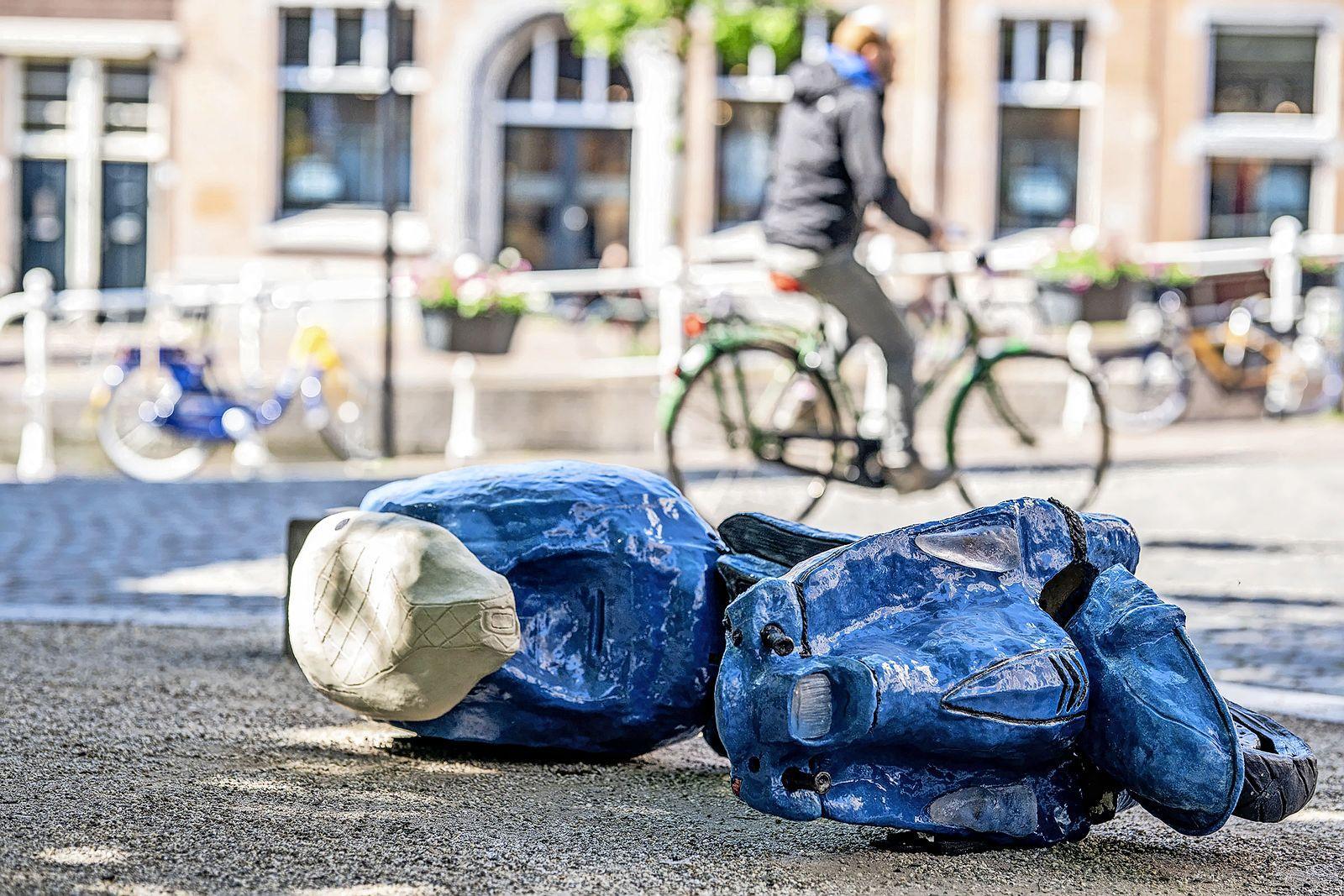 Openluchtexpositie Beelden in Leiden gaat deze zomer wèl door