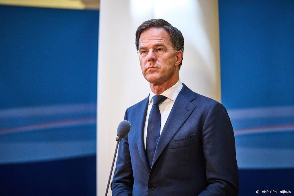 Rutte: ziekenhuiscijfers stijgen nog tot volgende week