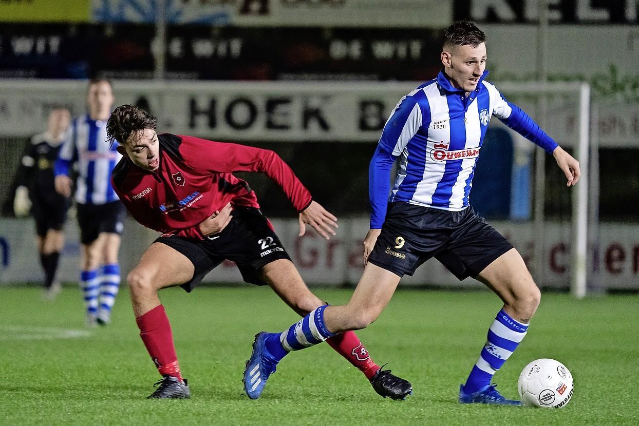 Spits Enzo Stroo vertrekt na een seizoen bij Quick Boys en tekent bij FC Lisse