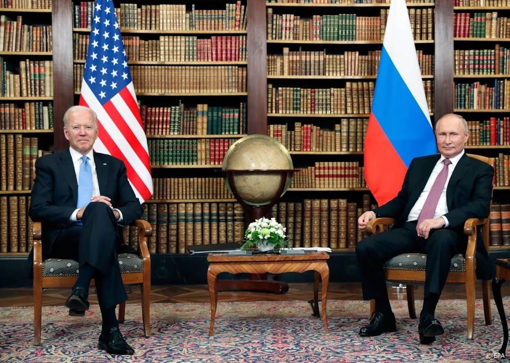 Biden en Poetin beëindigen hun eerste topontmoeting