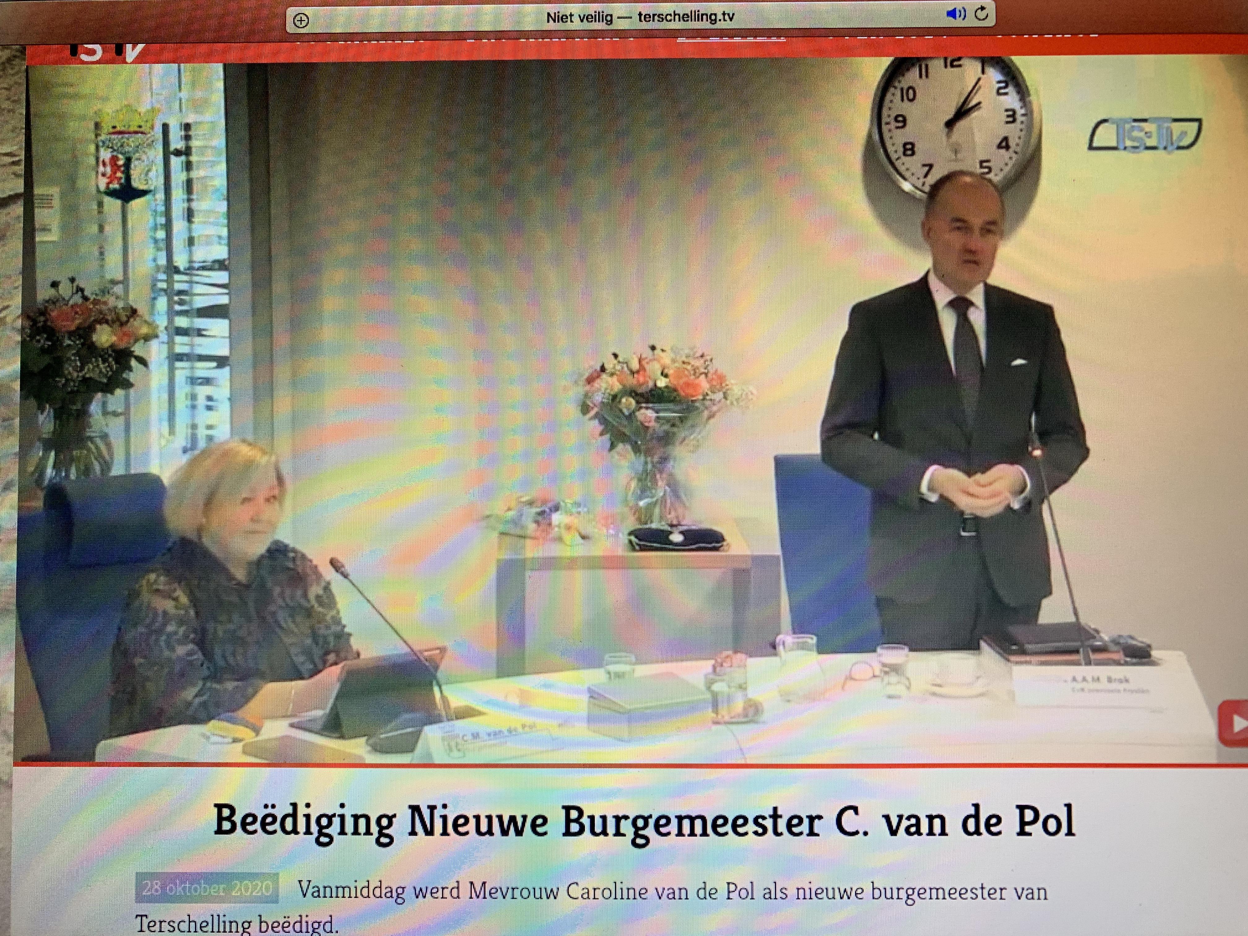 Caroline van de Pol is nu burgemeester van Terschelling. 'De mooiste gemeente van Nederland'