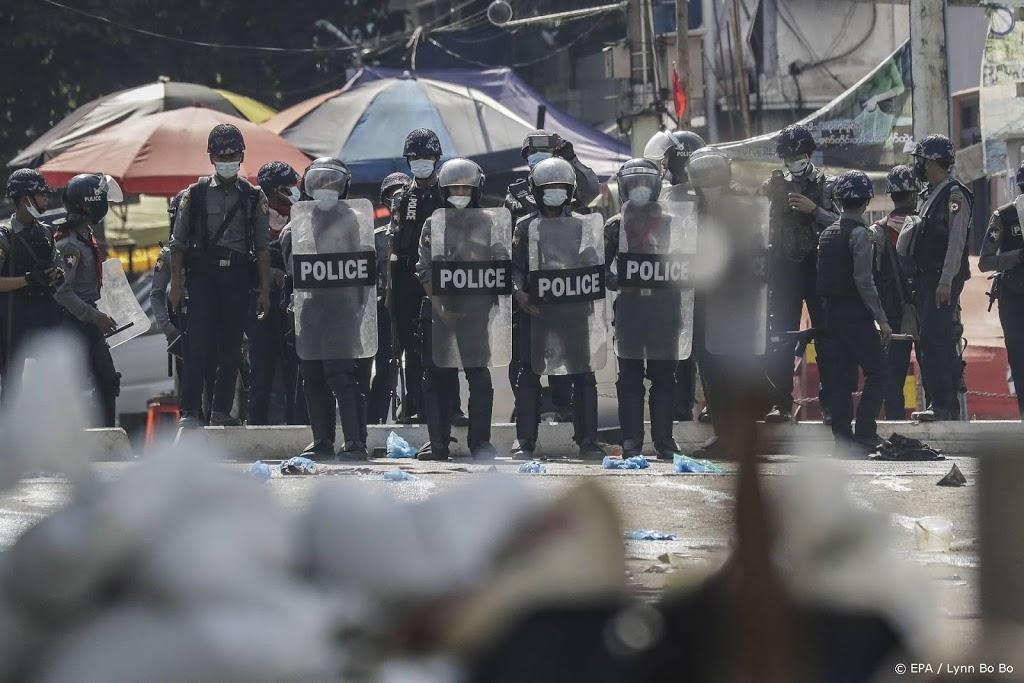 Razzia in Myanmar gericht op demonstranten tegen staatsgreep