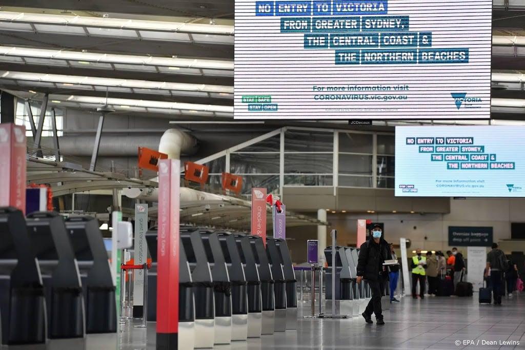 Lege stoelen bij Australische repatriëringvlucht vanuit India