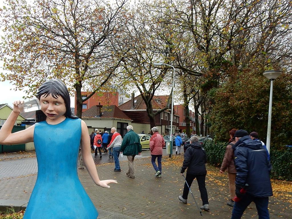 Eerste winterwandeling Laatste Loodjes begint in Zaandam