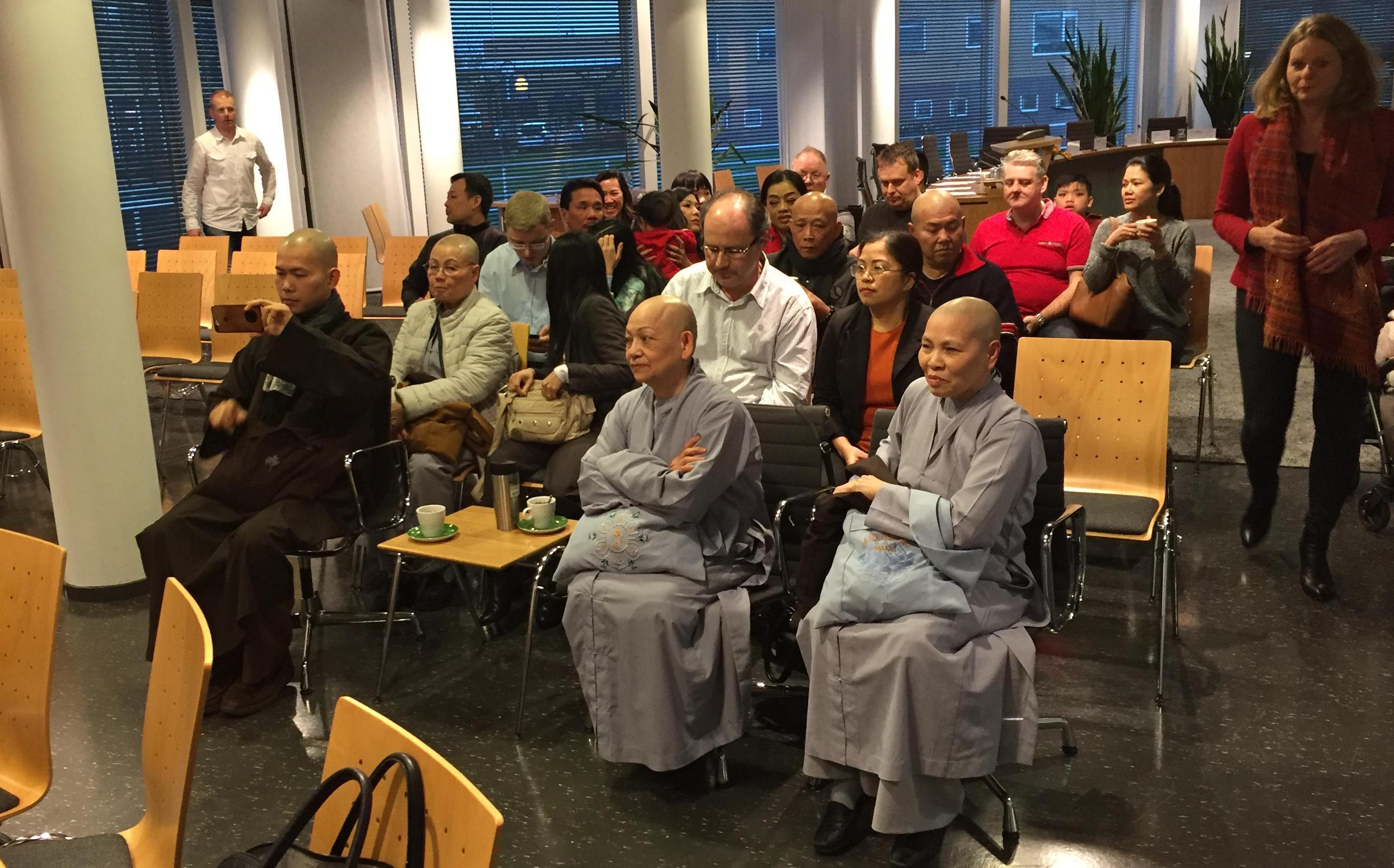 Boeddhisten roeren zich in Koggenland: 'Wij willen geen confrontatie'