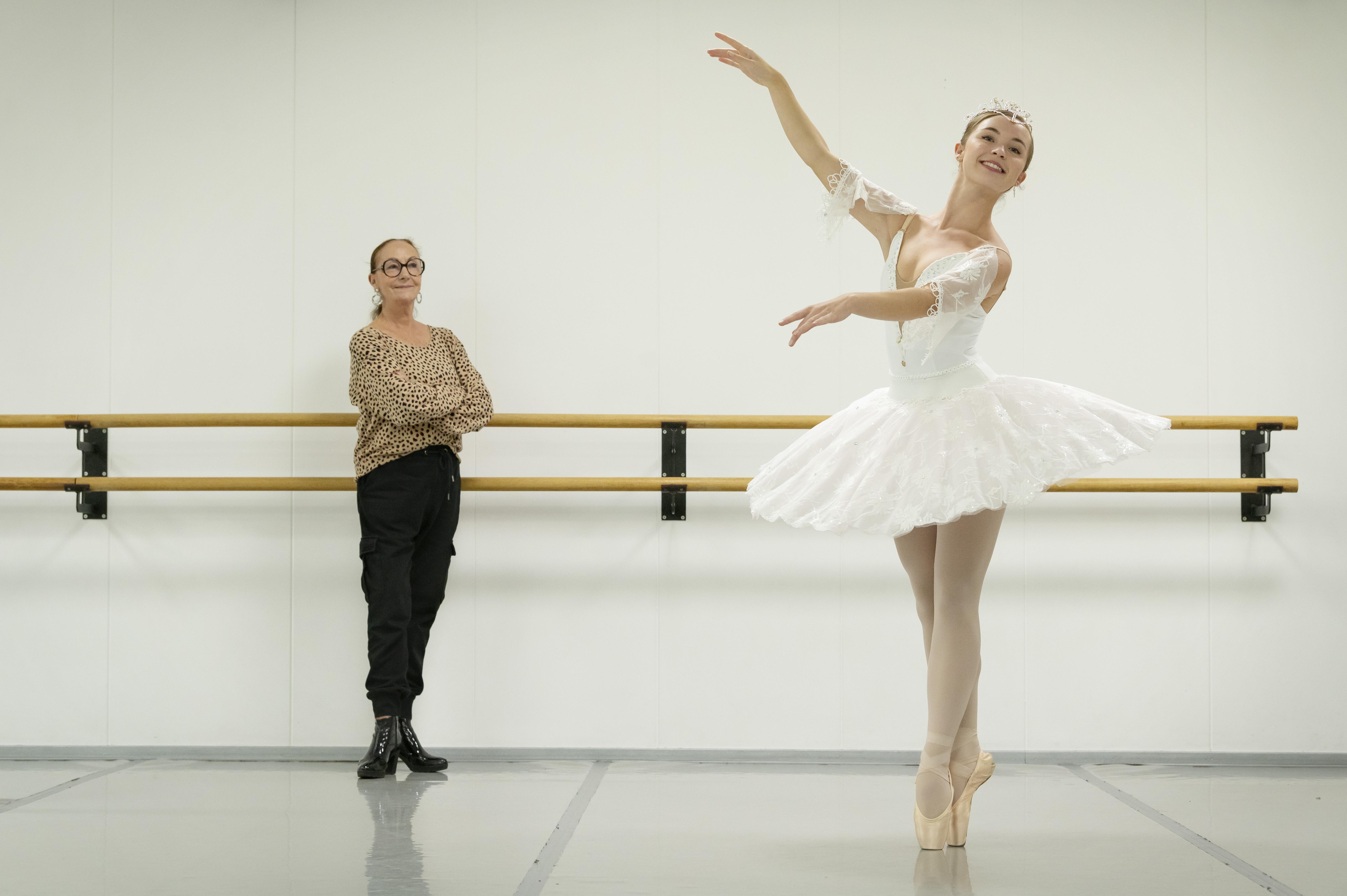 Voorhoutse Sara is balletkampioen van Nederland: 'Er doet altijd wel iets pijn met ballet'