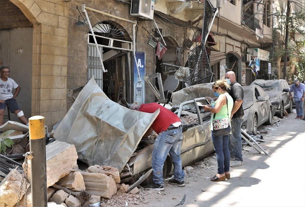 Dodental explosie haven Beiroet stijgt naar 135