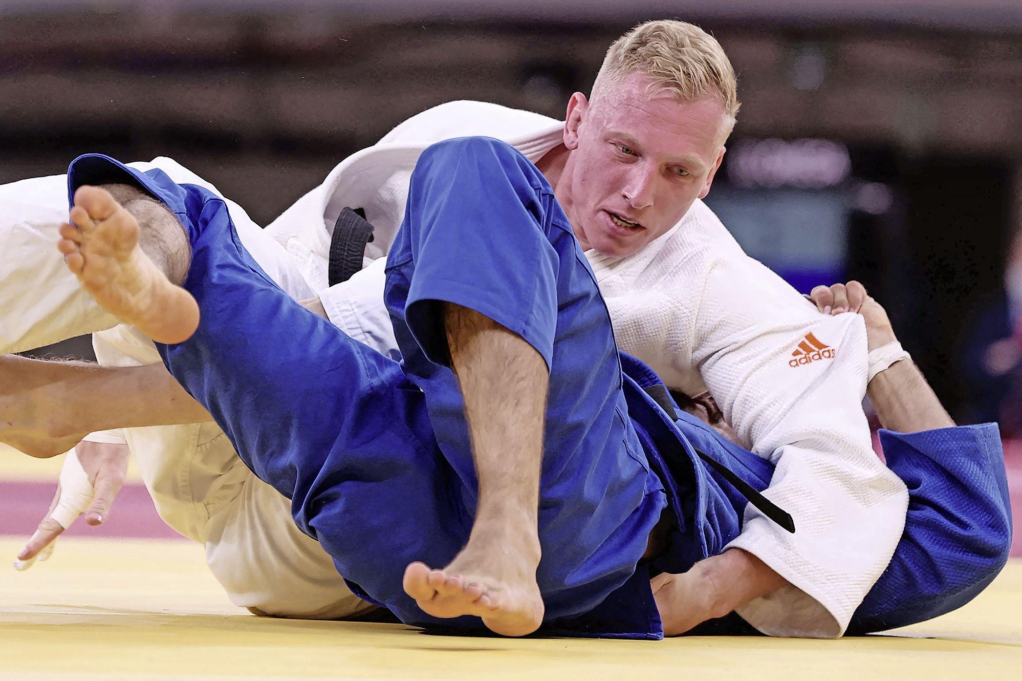 Judoka De Wit uitgeschakeld in klasse tot 81 kilogram