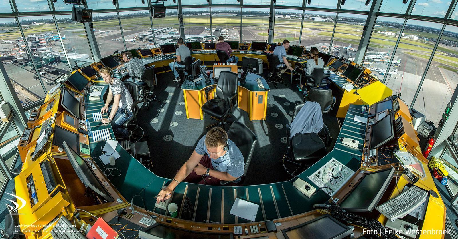 Netwerk Luchtverkeersleiding, KLM en Schiphol was onbeveiligd