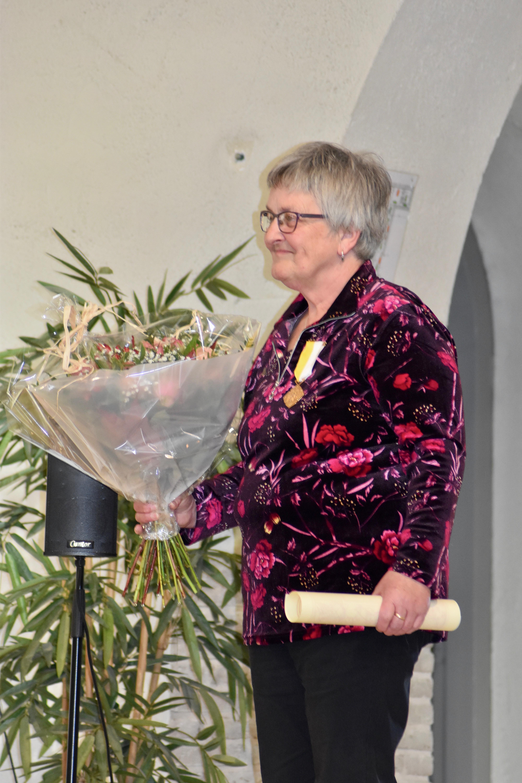 Duizendpoot Dinie in Venhuizen pauselijk onderscheiden