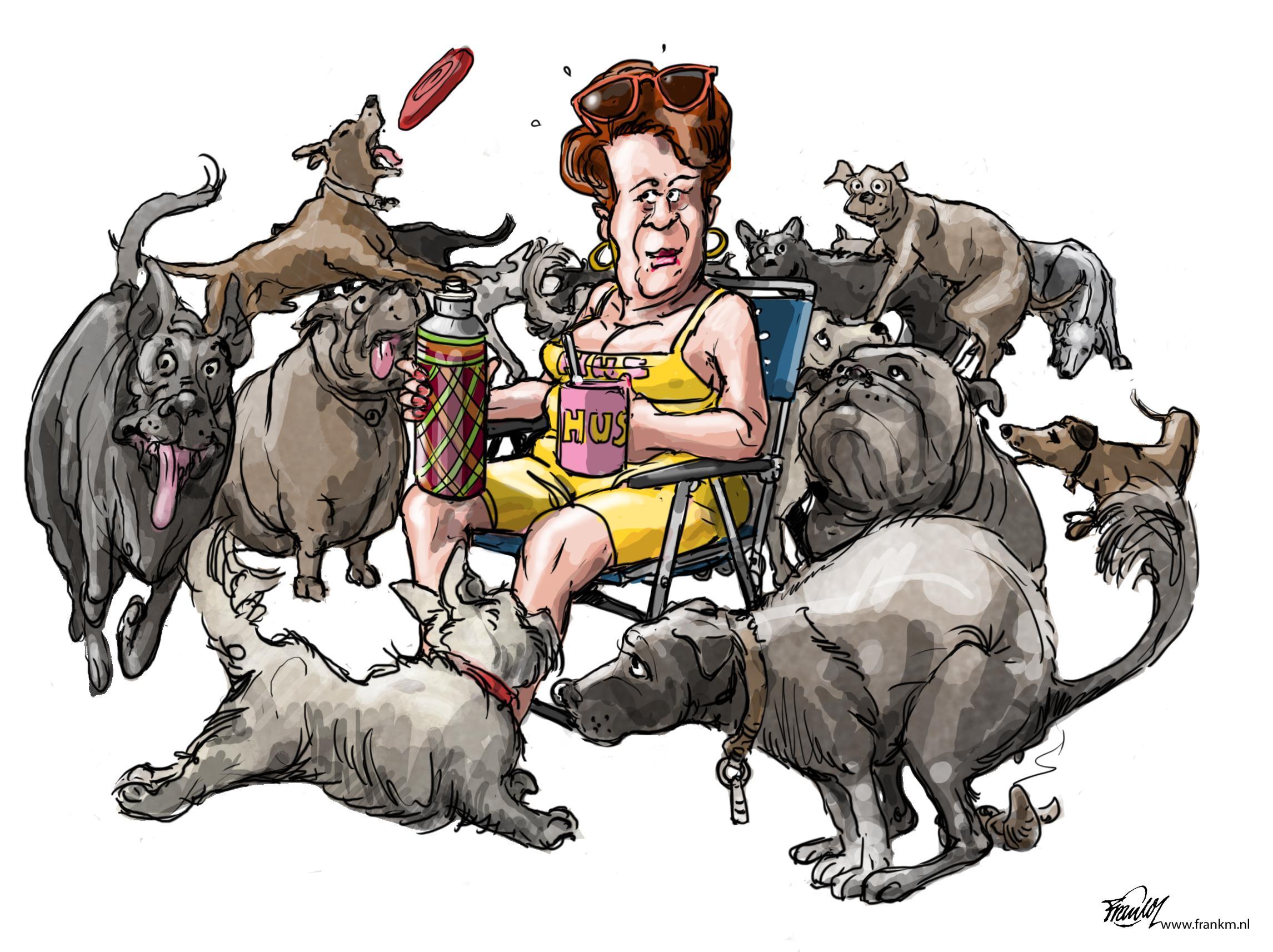 Goois Natuurreservaat gaat grote groepen honden weren; Maximaal drie dieren per persoon; Hussen niet meer welkom