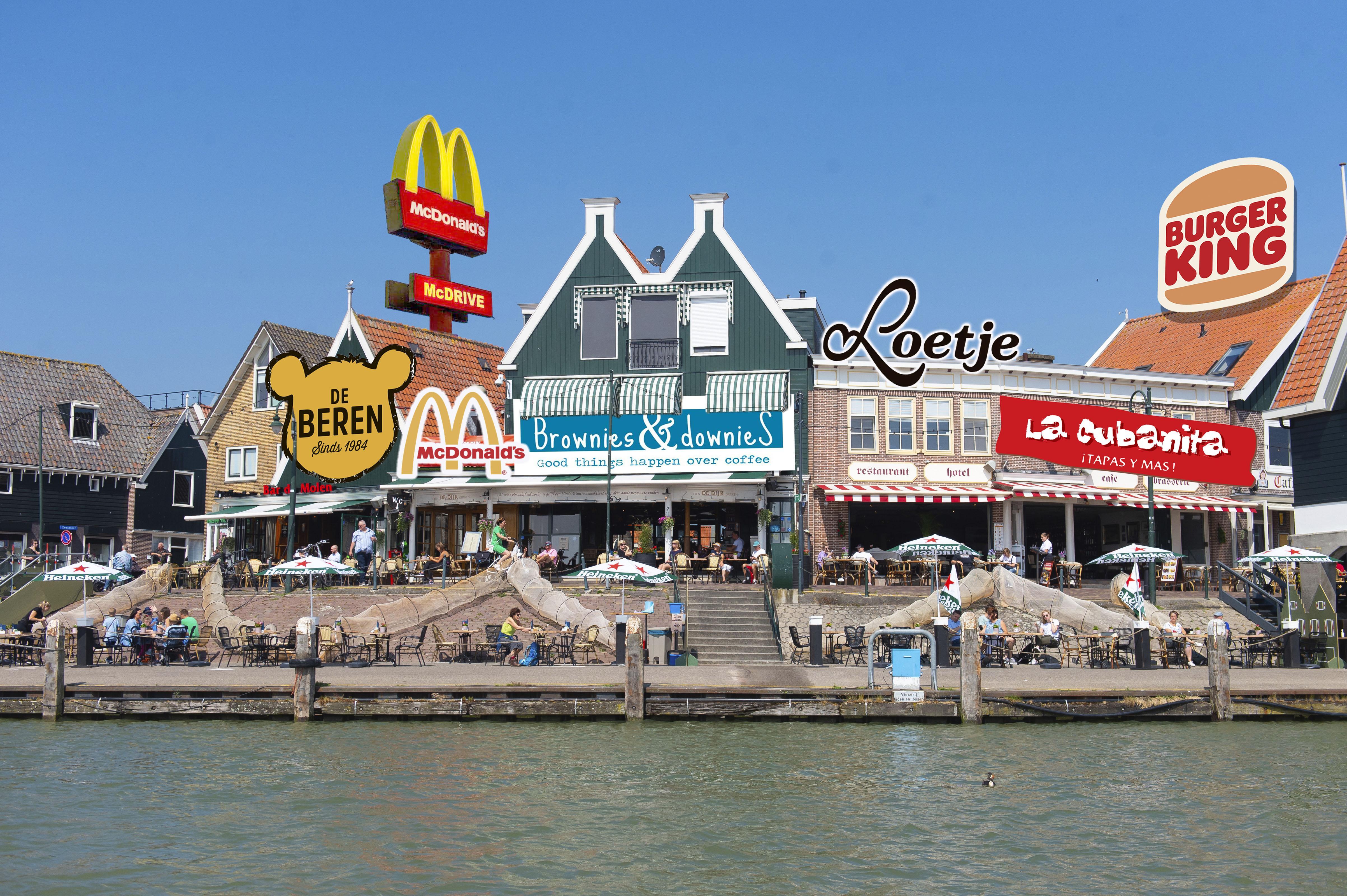 Een tapasbar, McDonald's of sterrentent: wat mist Volendam op de Dijk? 'Loetje. Daar zou ik direct gaan eten'
