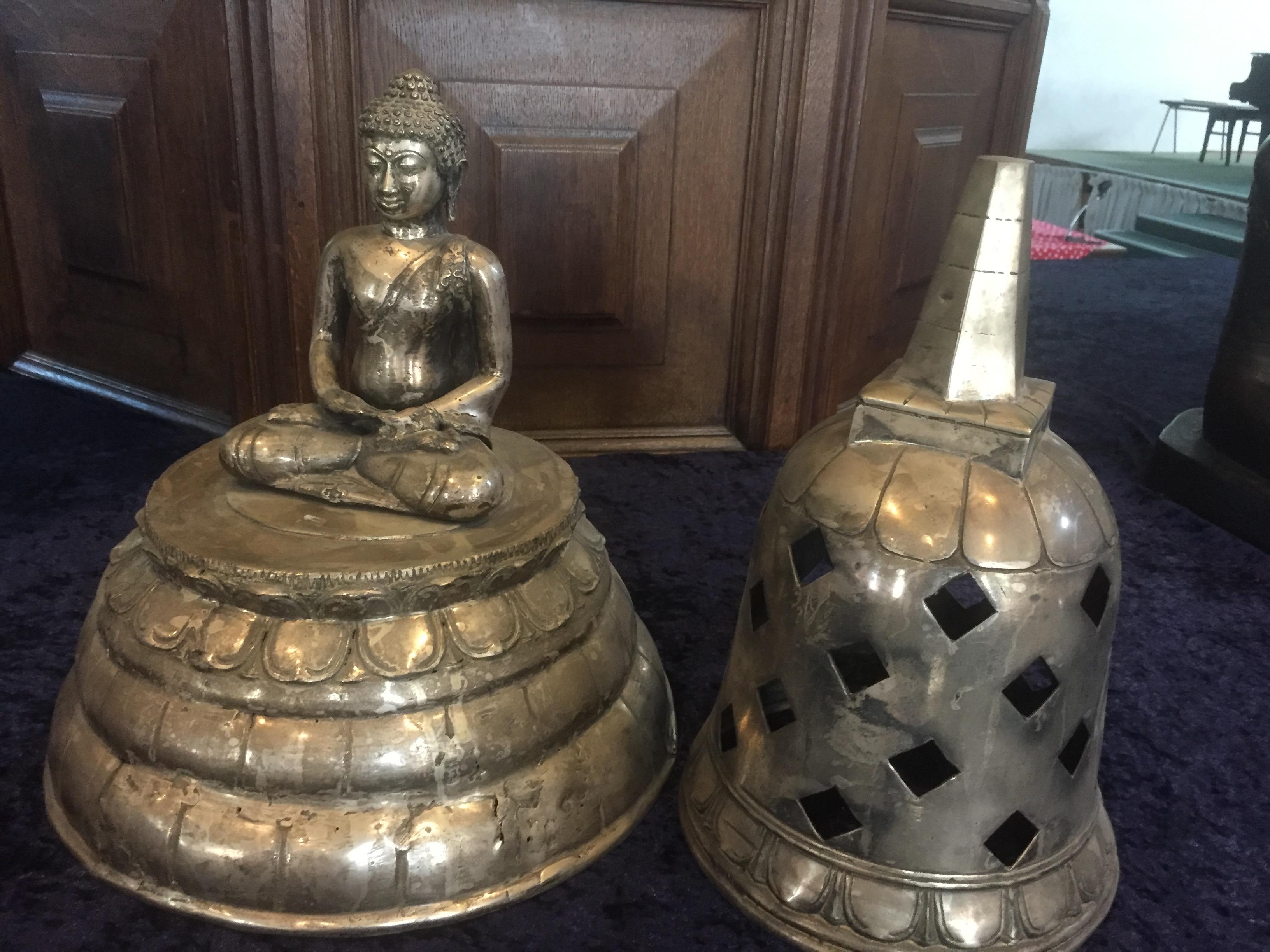 Voor Boeddha is ook plaats in de protestantse Grote Kerk in Beverwijk