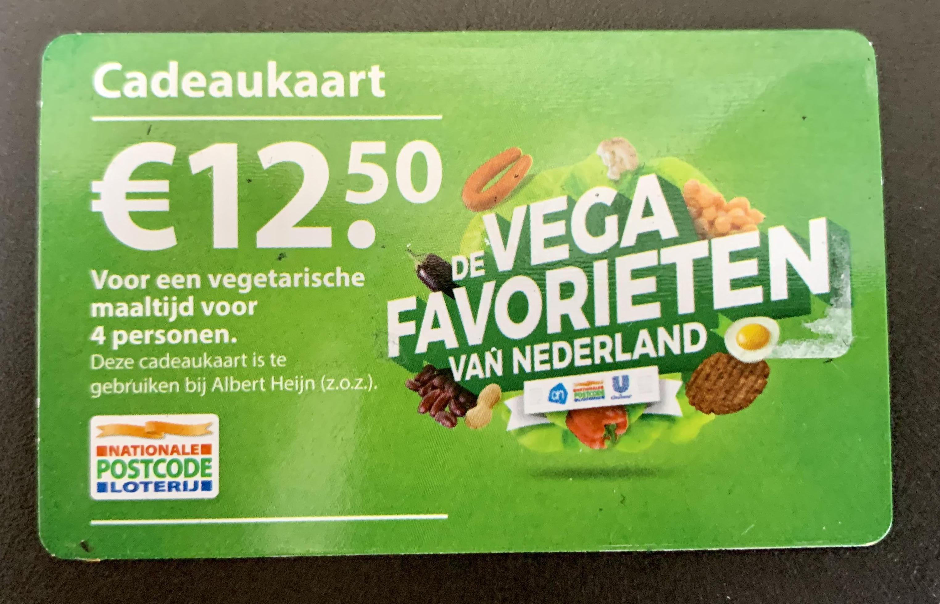 Cadeaukaarten Postcodeloterij zeer gewild bij Voedselbank Langedijk