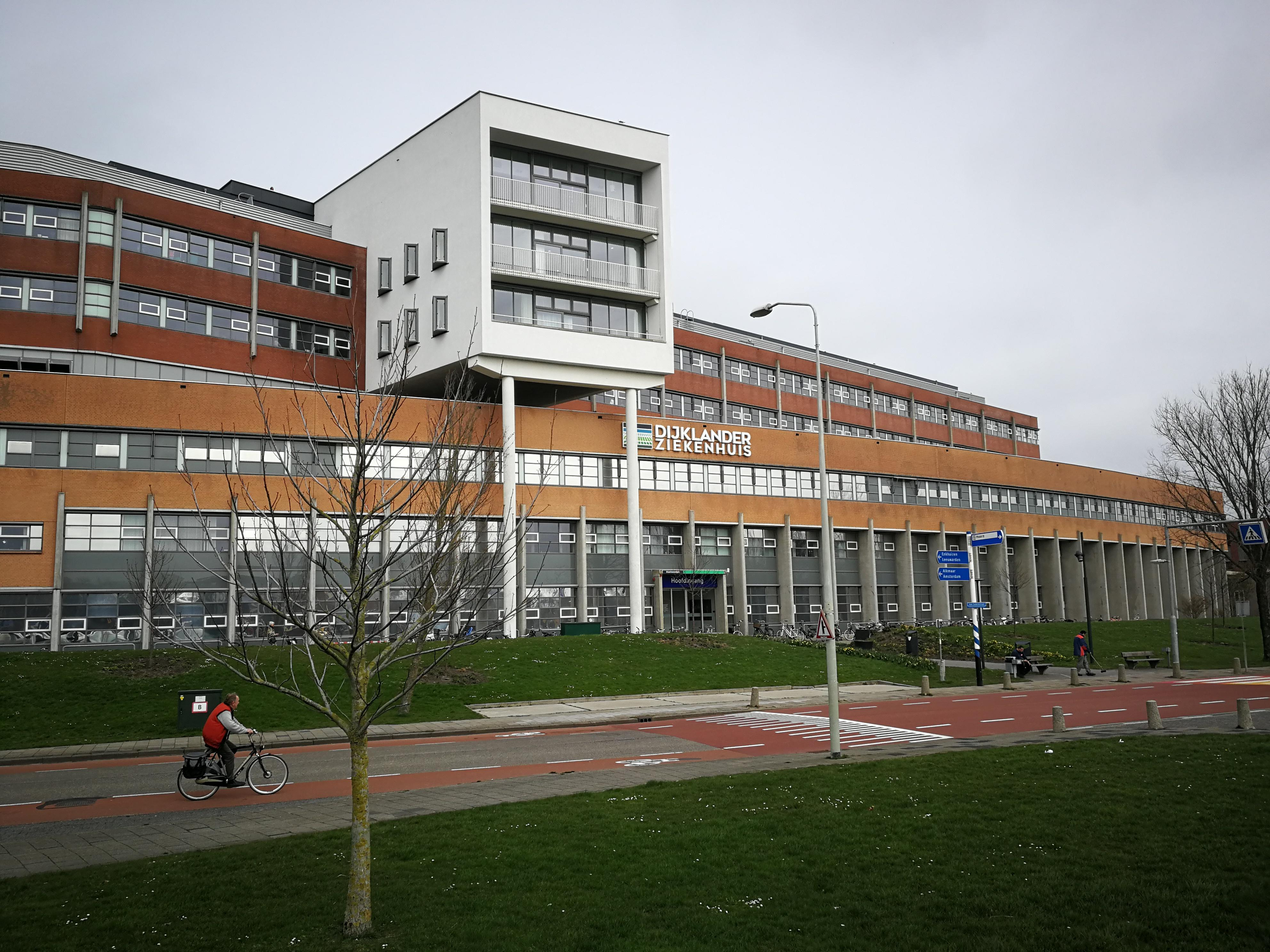 68 mensen met corona in Dijklander Ziekenhuis in Hoorn