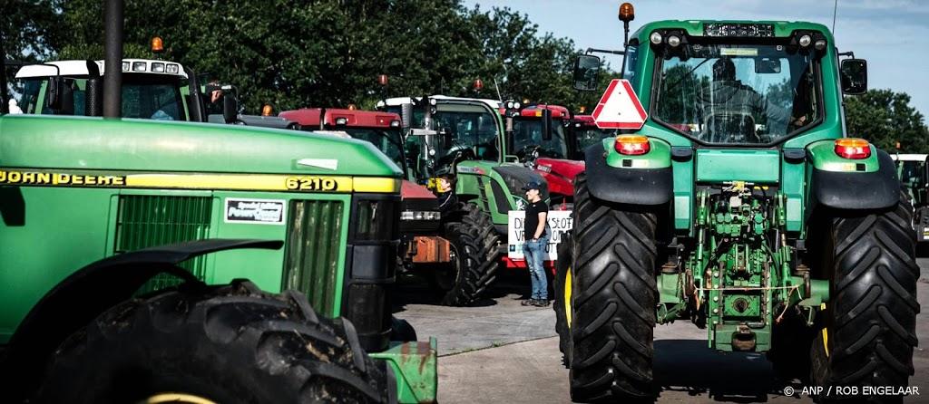 Malieveld begint vol te stromen met tractoren voor boerenprotest