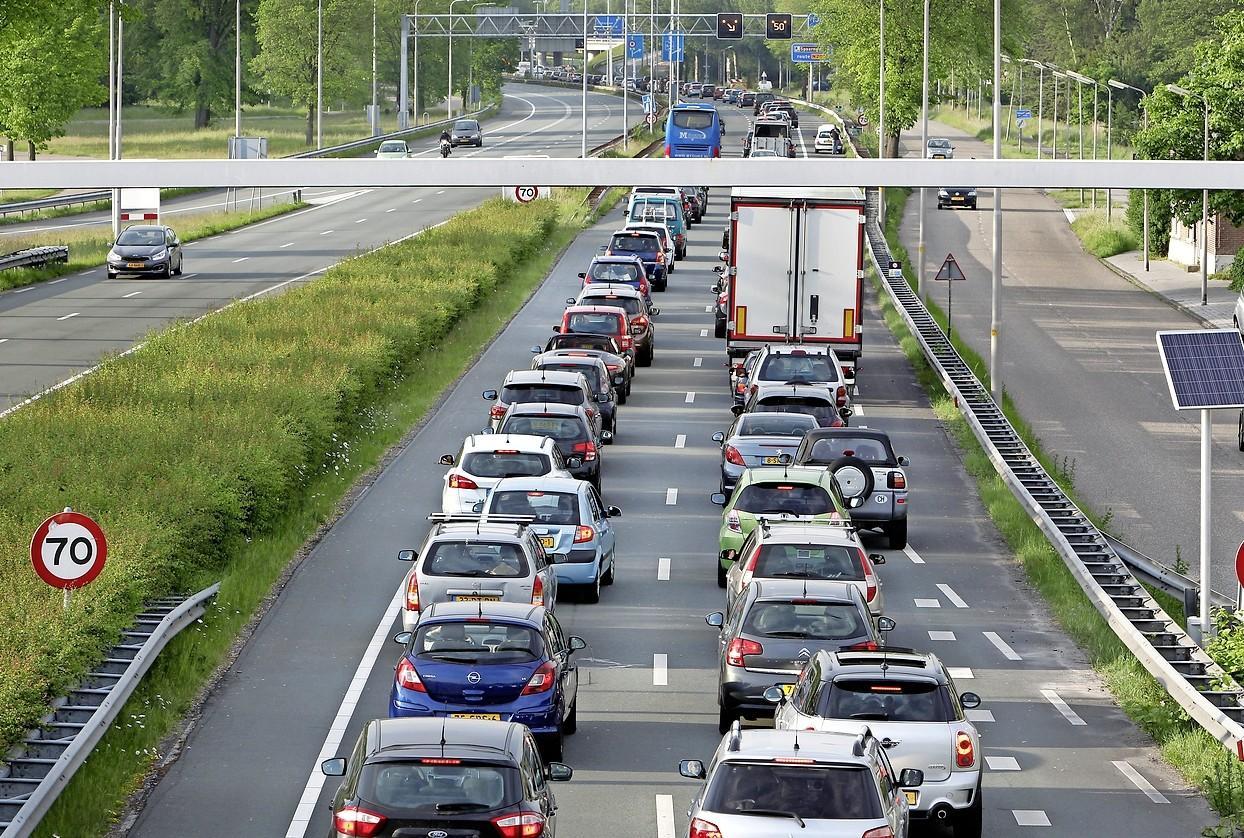Te hoge vrachtwagens vaker vast bij tunnels, vooral bij Velsertunnel