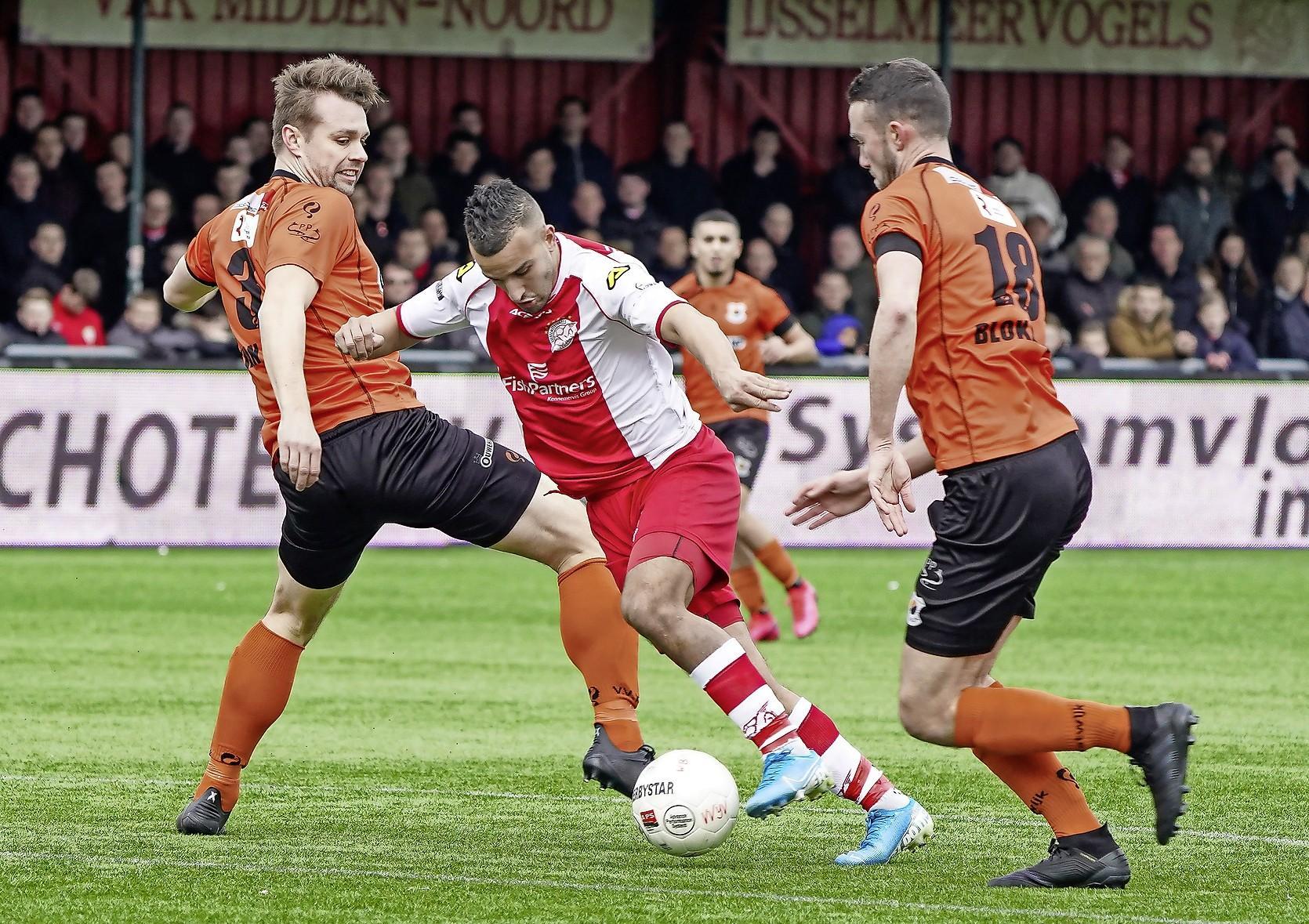 IJsselmeervogels laat na wat efficiënt Katwijk wél doet en raakt verder achterop in de titelstrijd