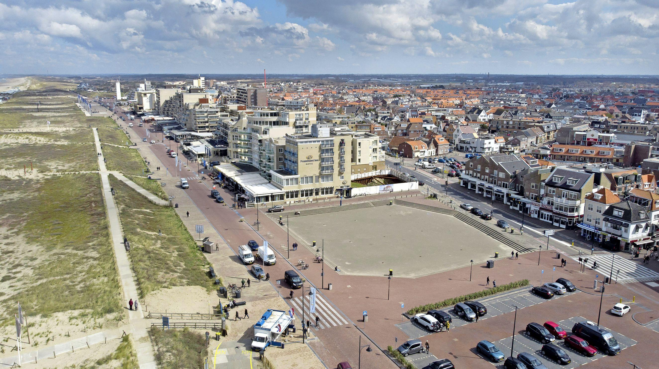 Ruime raadsmeerderheid voor nieuwe bouwmogelijkheden Gat van Palace in Noordwijk