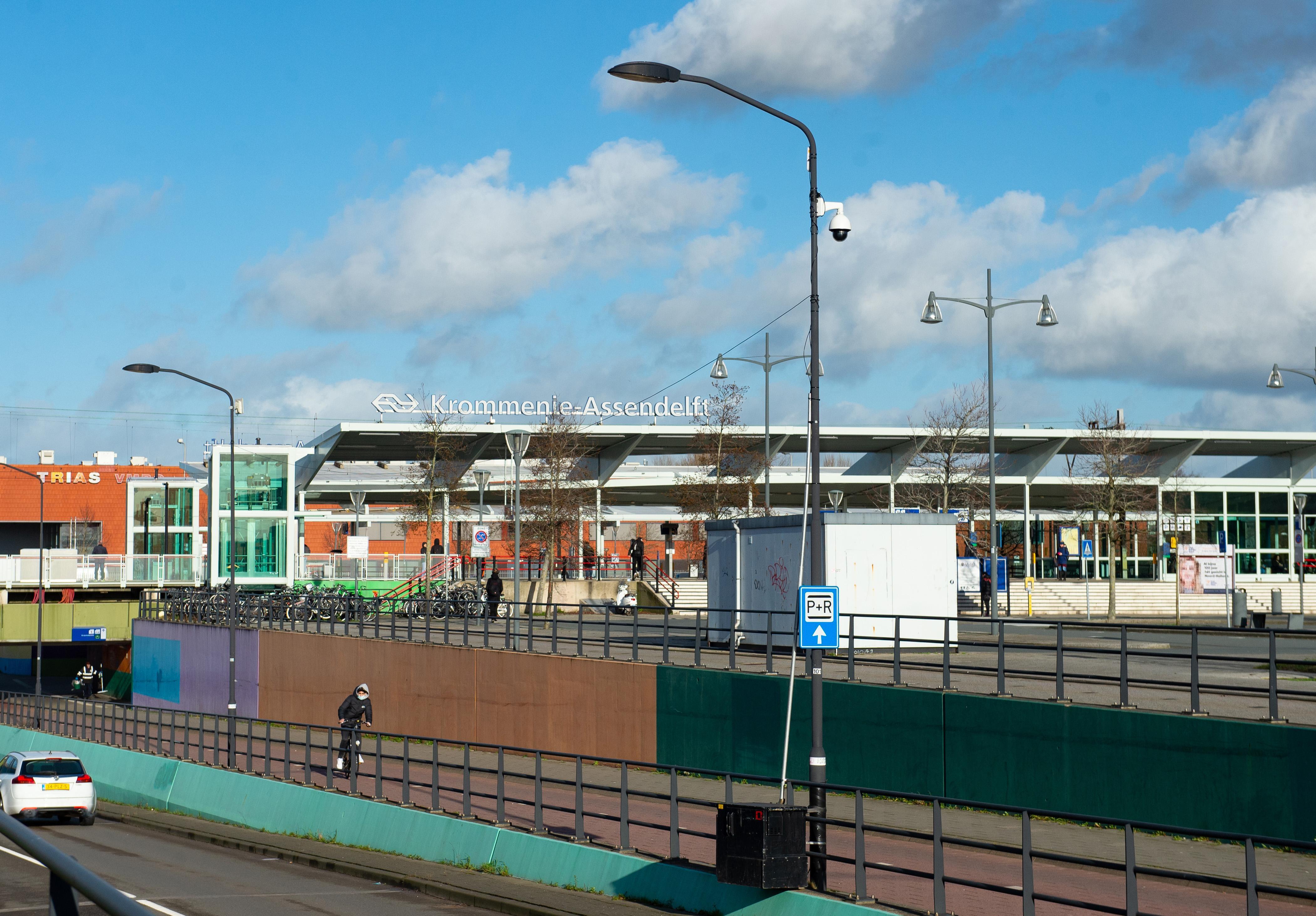 Station Krommenie-Assendelft krijgt permanent cameratoezicht, net als Zaandam. Andere vier stations niet
