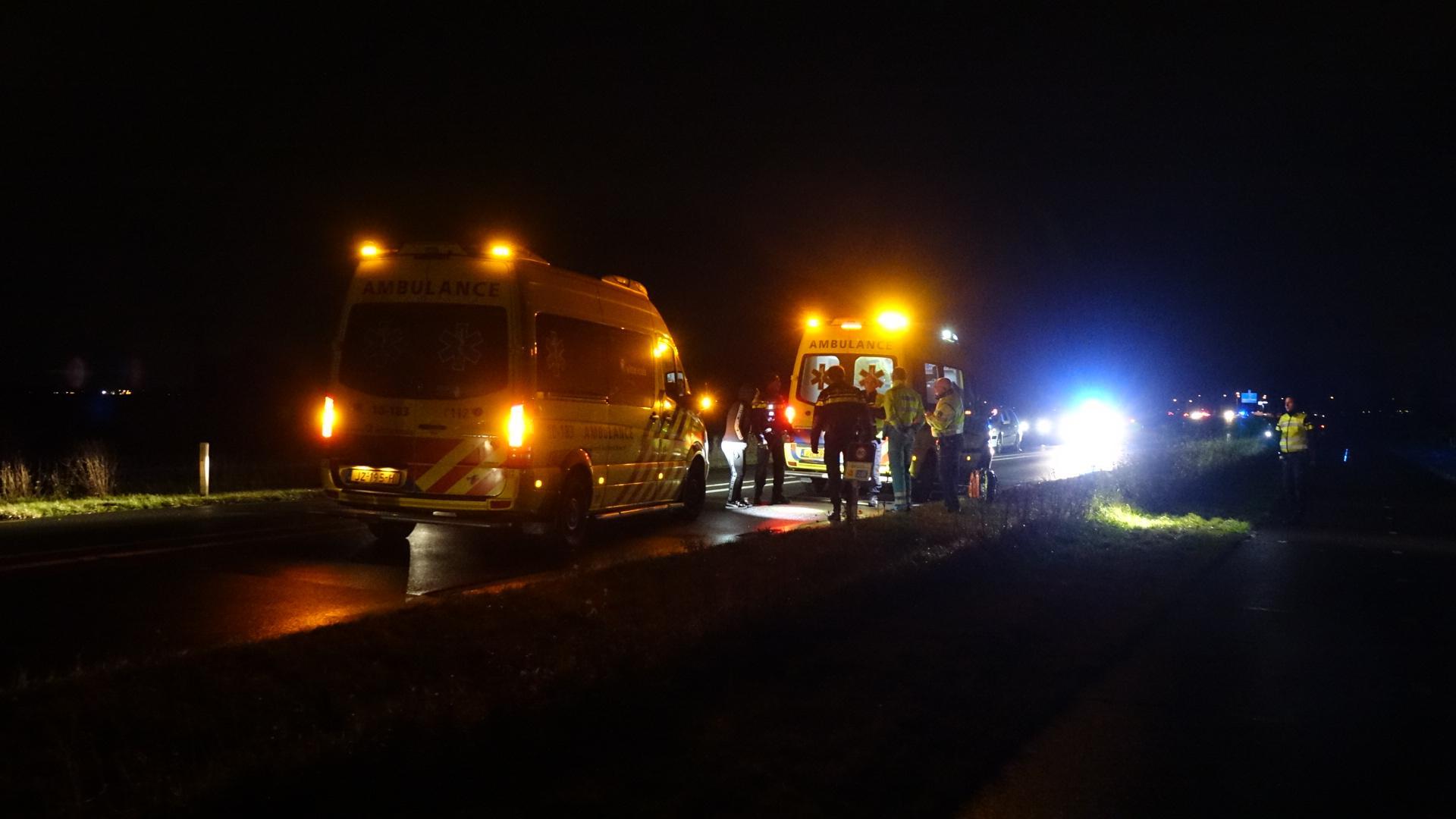 Persoon zwaargewond bij aanrijding op de N241 in Schagen