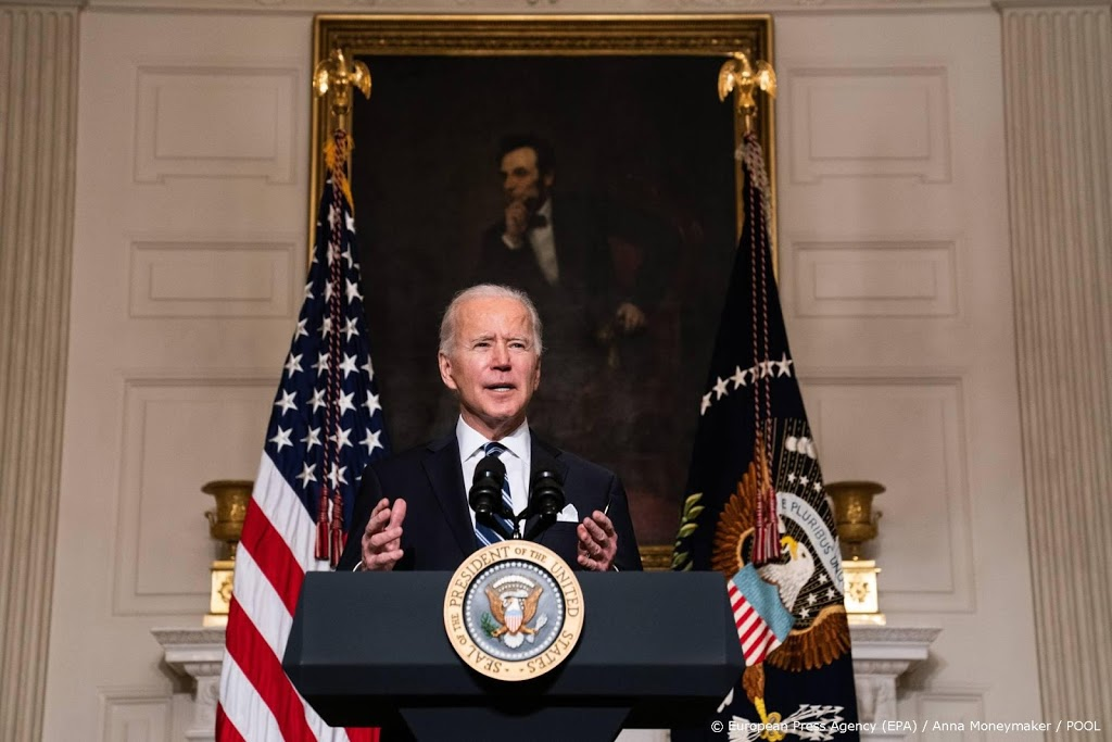 Biden: VS moeten voortouw nemen bij aanpak klimaatverandering