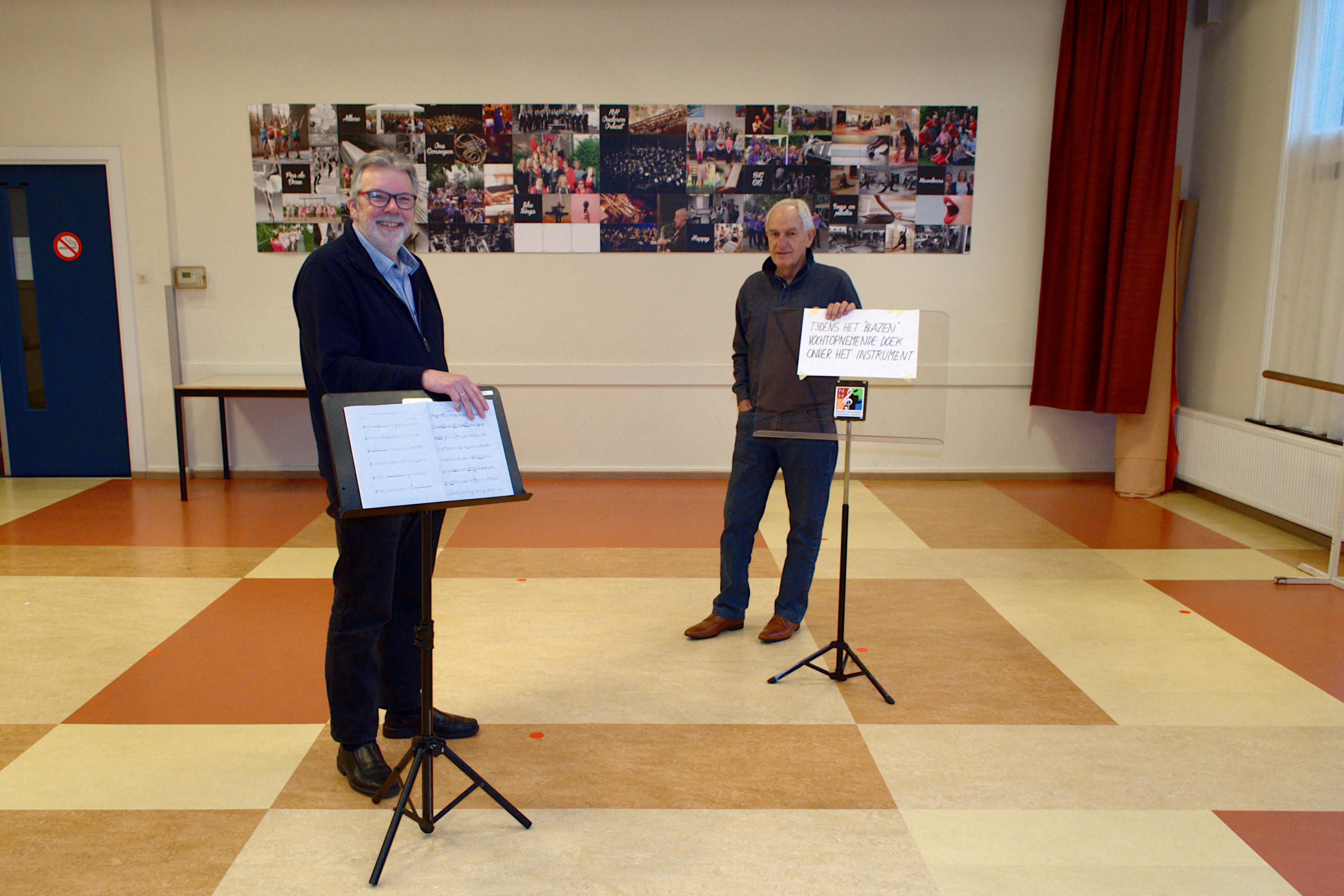 Westfries Mannenkoor en Noord-Hollands Ouderen Orkest houden vertrouwen in de toekomst, ondanks uitstel van jubileavieringen