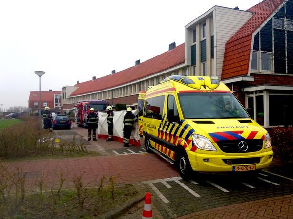 Vrouw overleden na ongeval in Winkel