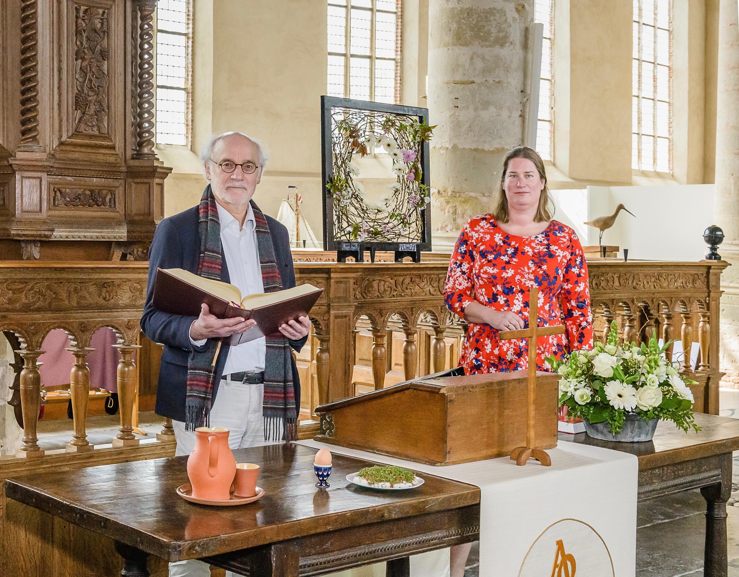 Bidden in Broek en preken in Zuiderwoude. Waterlandse kerken maken zondag een 'schakeldienst'