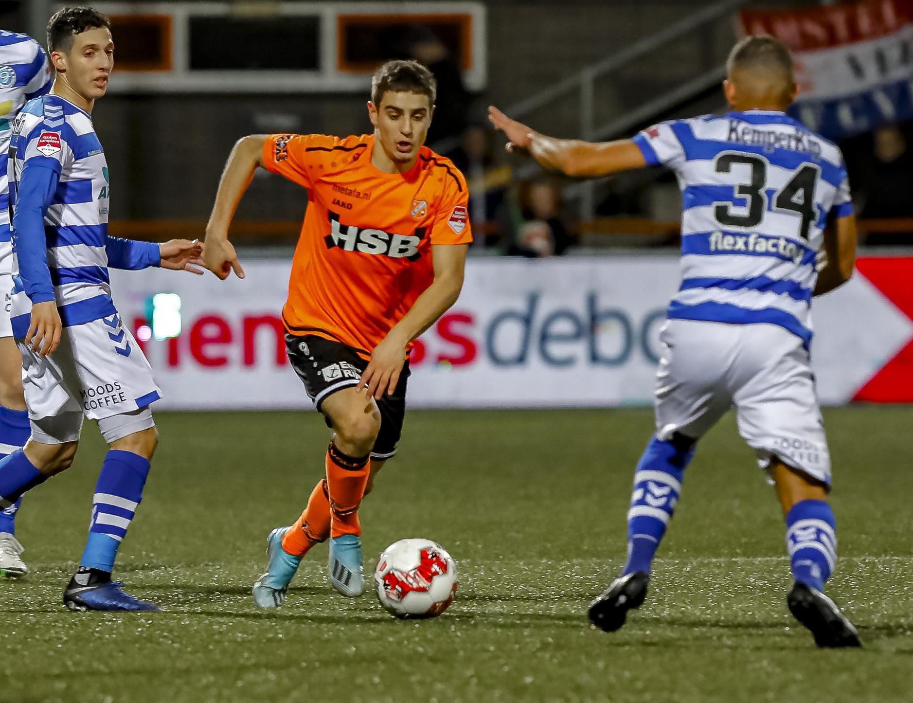Weer fitte Franco Antonucci over de 'droge periode' van FC Volendam: 'Snel scoren, anders gaat het in je hoofd zitten'
