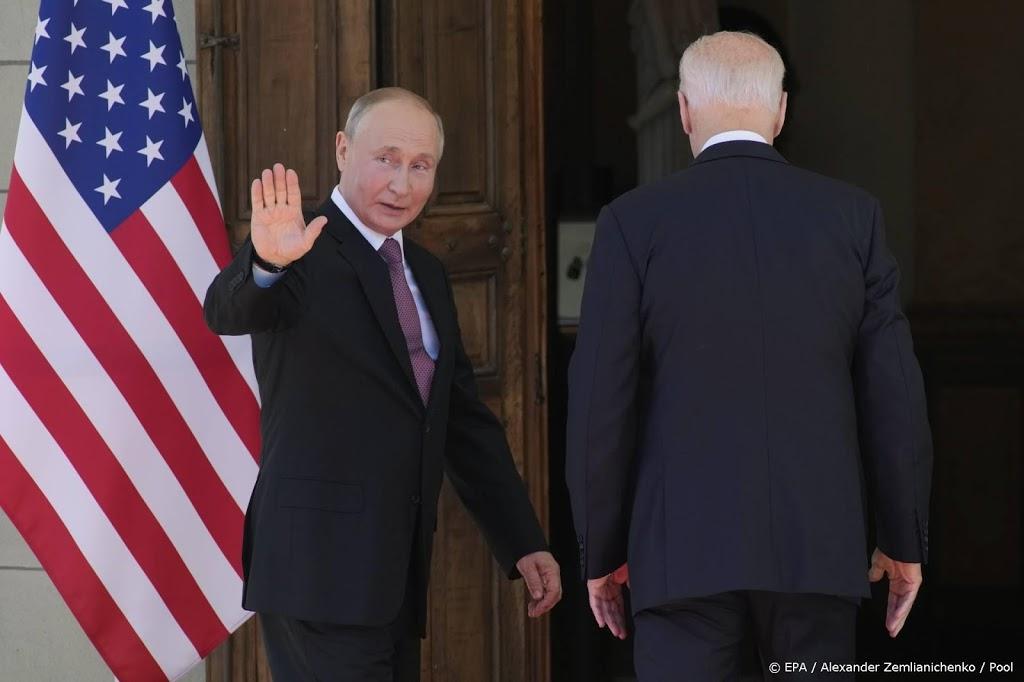 Biden en Poetin aan eerste topontmoeting begonnen