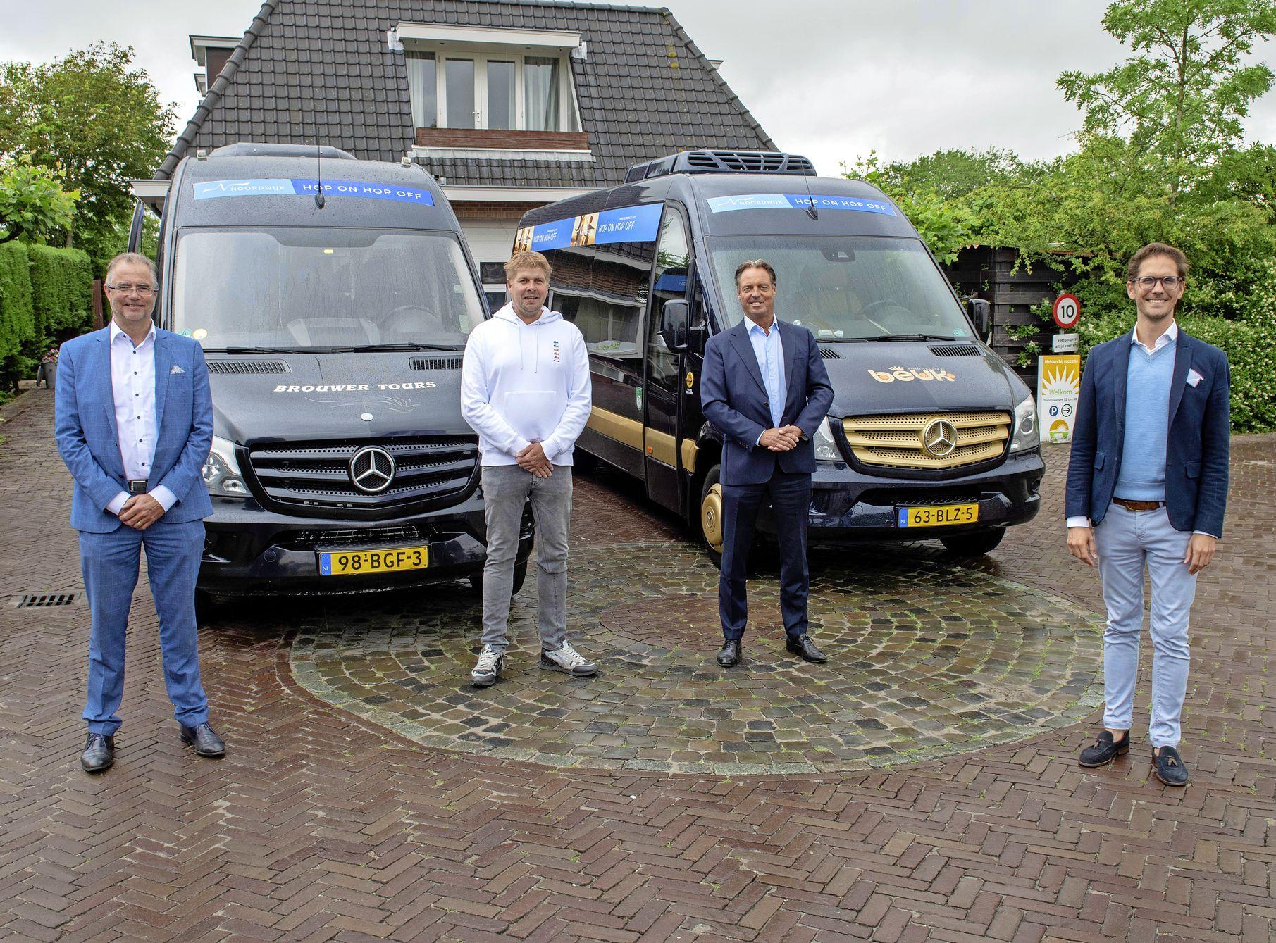Busdienst verbindt campings en parken met centrum van Noordwijk