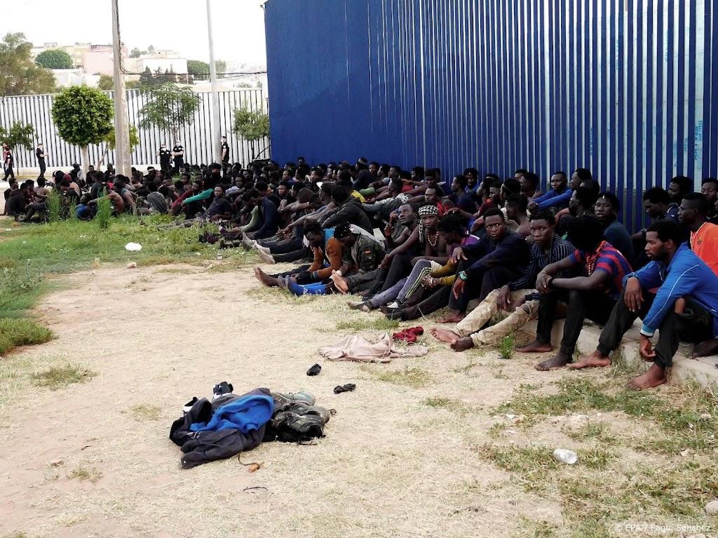 Weer bestorming Spaanse enclave in Noord-Afrika