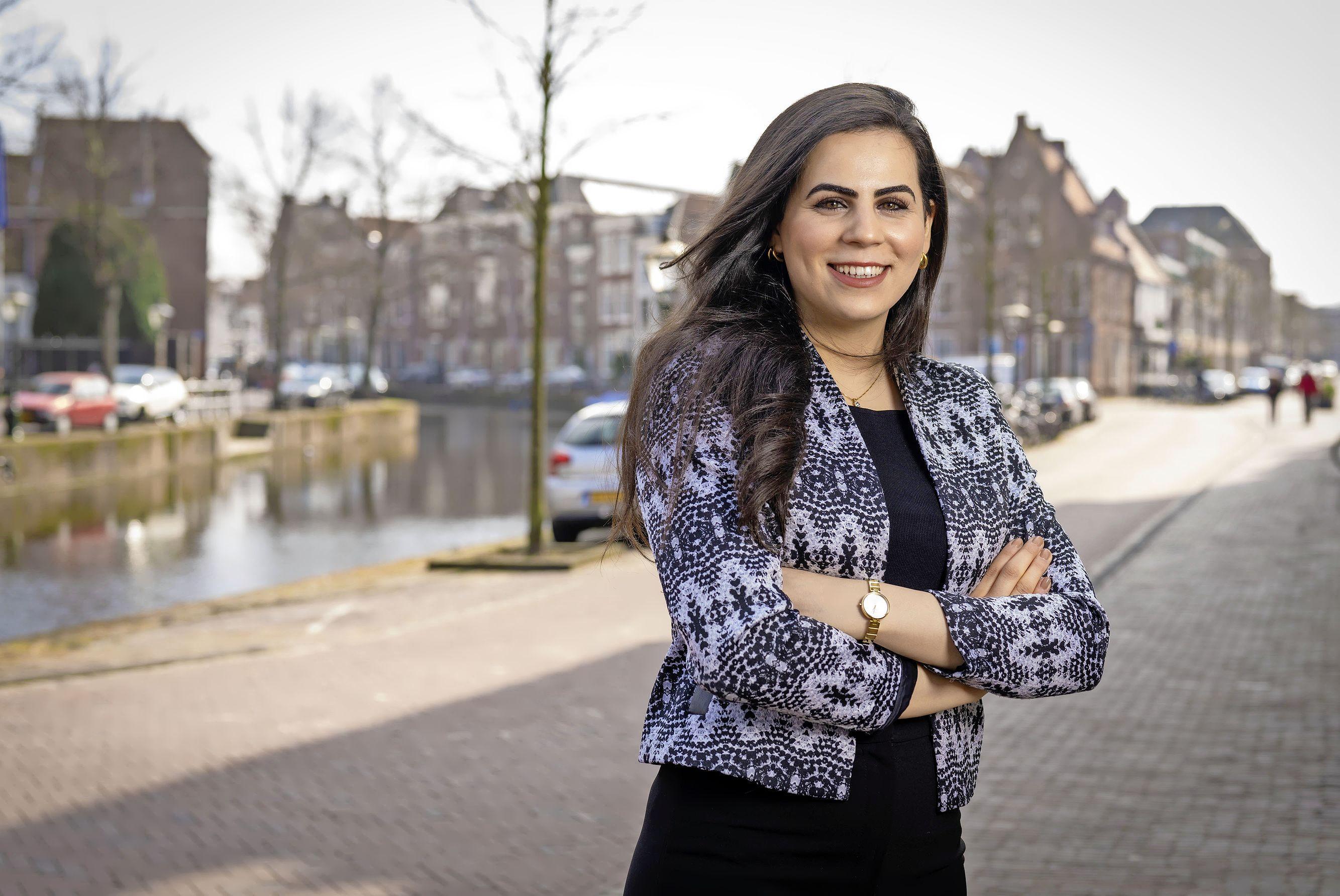 Leidse student-minister Zeineb Romdhane (22): 'We willen de politiek een hand reiken op basis van wetenschappelijk onderzoek'