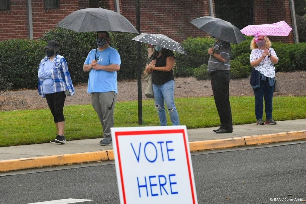 Bijna 22 miljoen Amerikanen hebben al gestemd