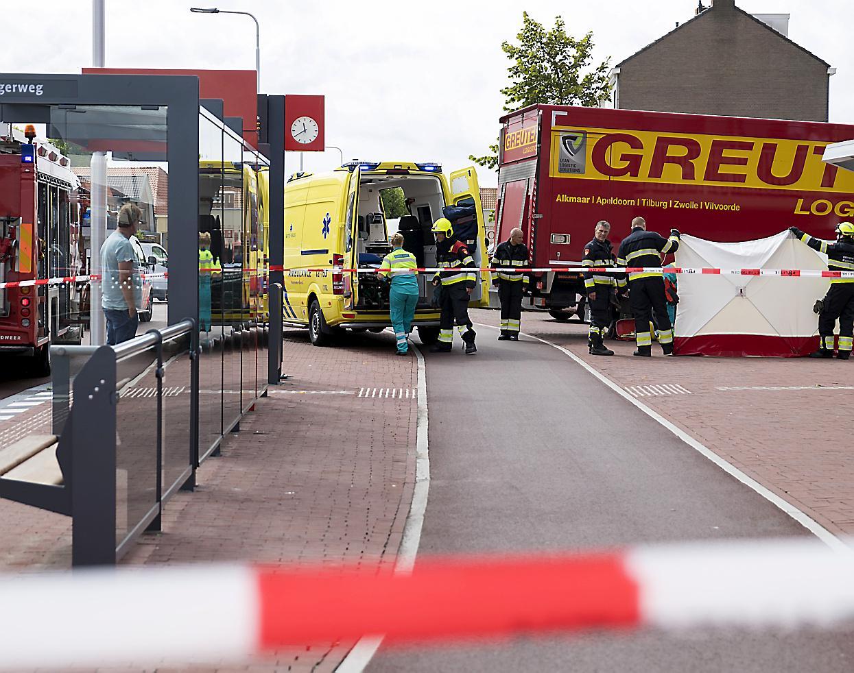 Heemskerkse trucker voor rechter om dodelijke aanrijding in Santpoort-Noord