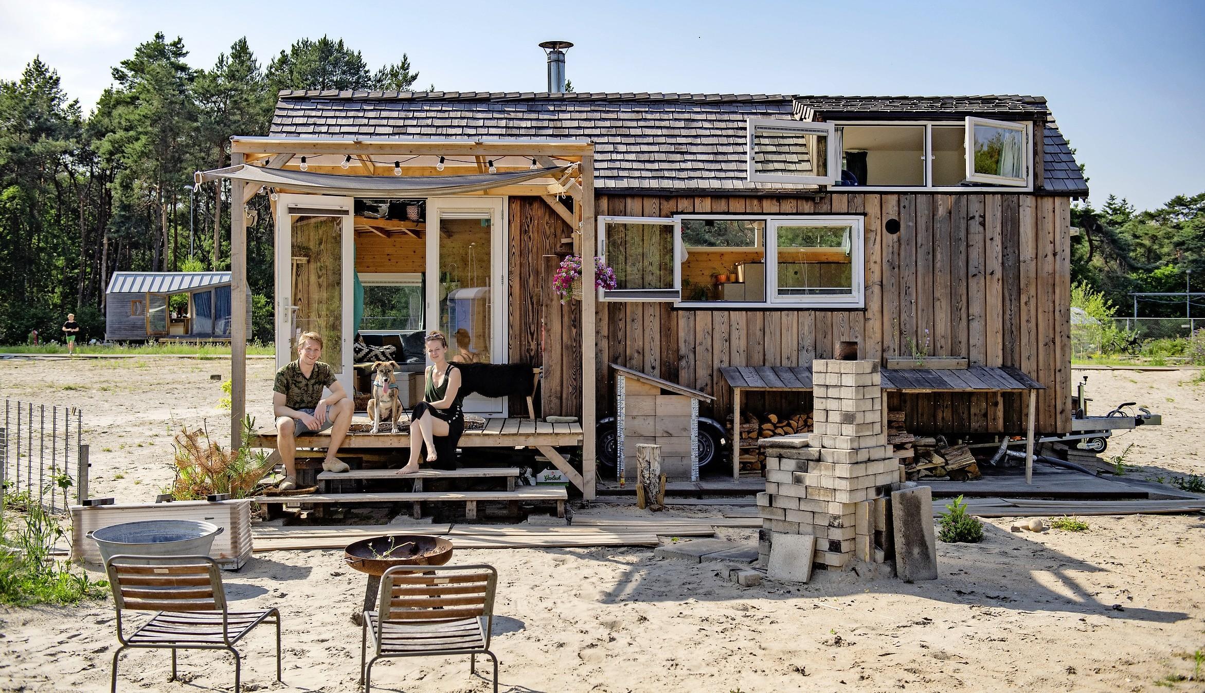 Tiny houses voor creatievelingen, buitenlevers én flexibele karakters