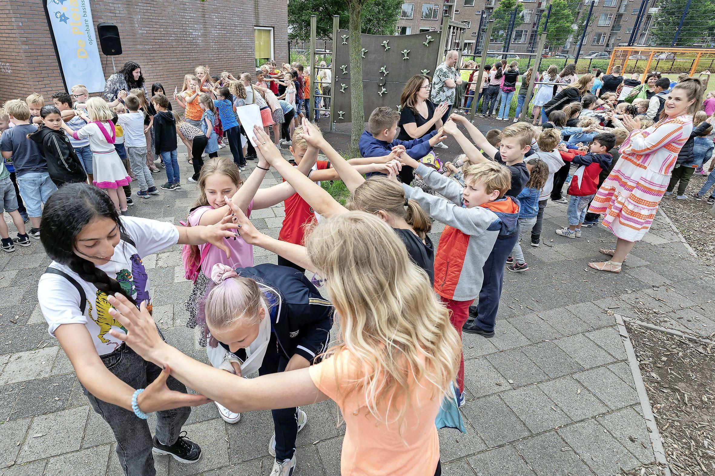 Groep acht van De Pleiaden in IJmuiden vertrekt niet met stille trom