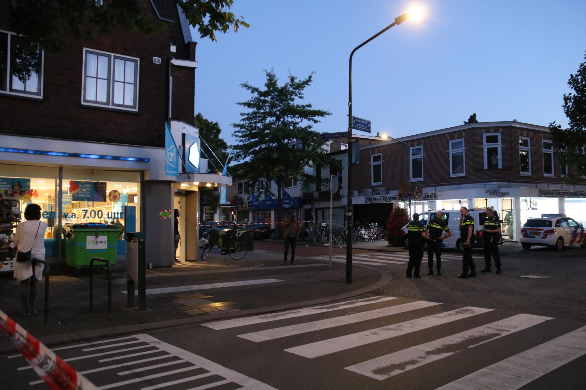 Politie zoekt camerabeelden van gewapende overval op AH Hilversum