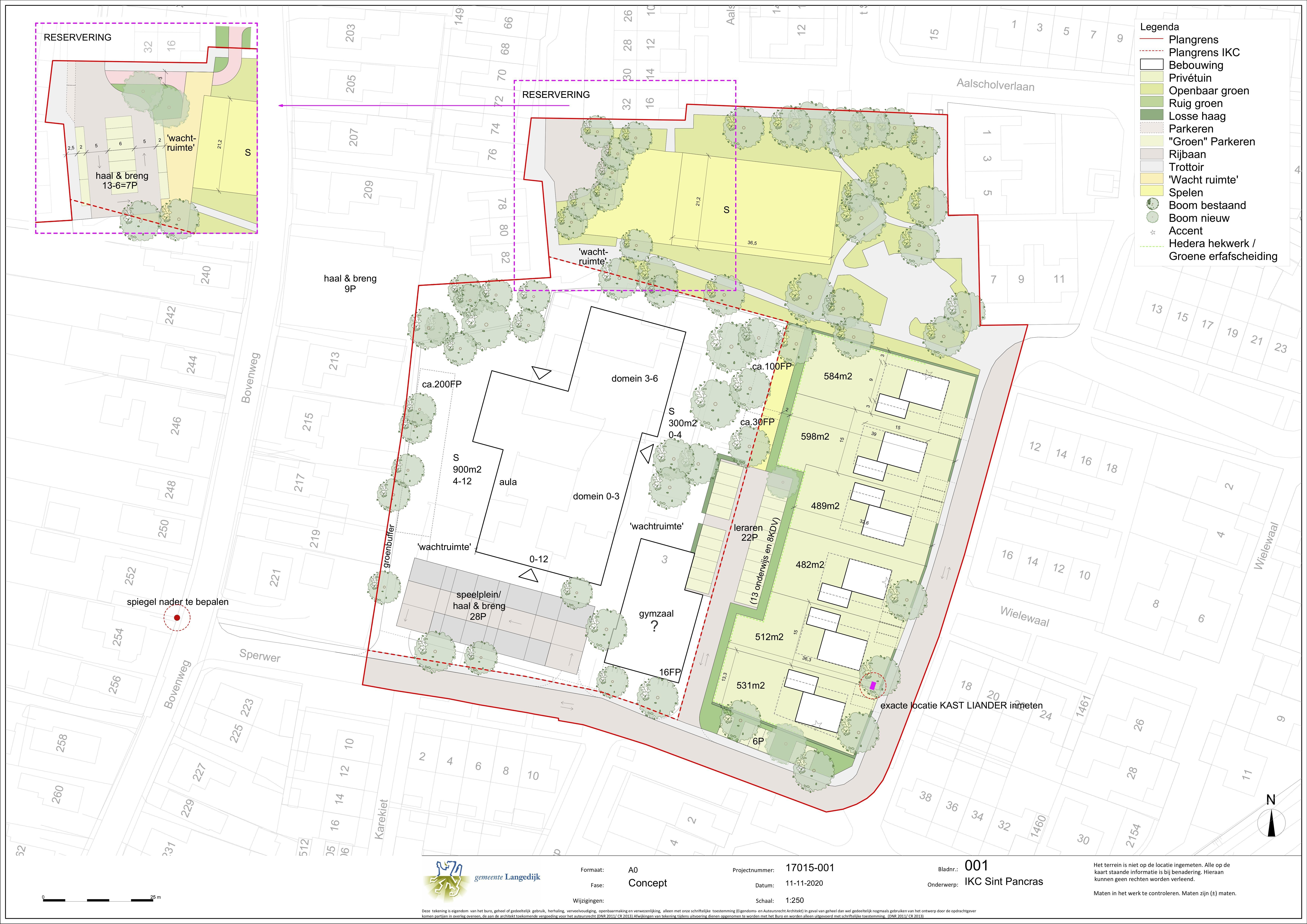 Nieuw plan IKC Sint Pancras: omwonenden content met zes in plaats van zeventien woningen