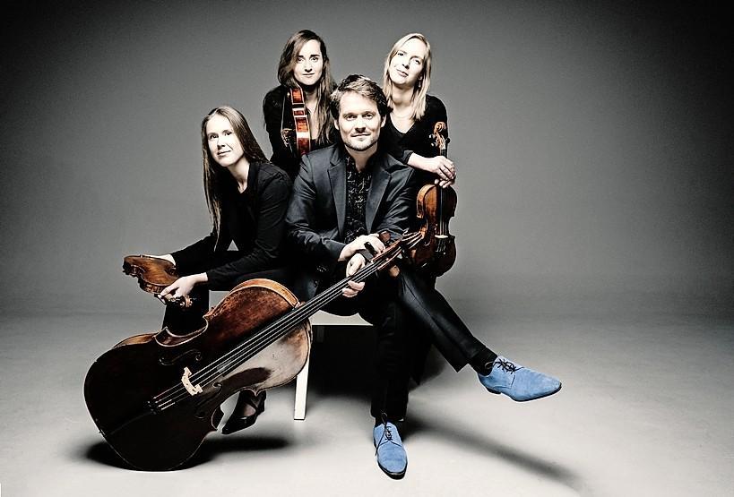 Wonderschoon Dudok Quartet Amsterdam in Muzenforum