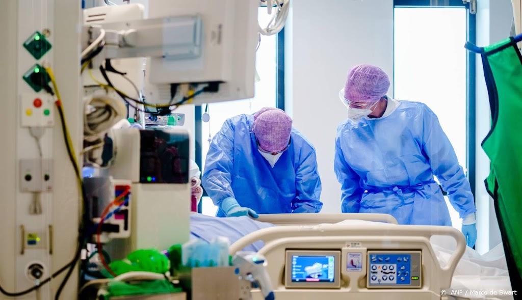 Aantal coronapatiënten in ziekenhuizen daalt verder