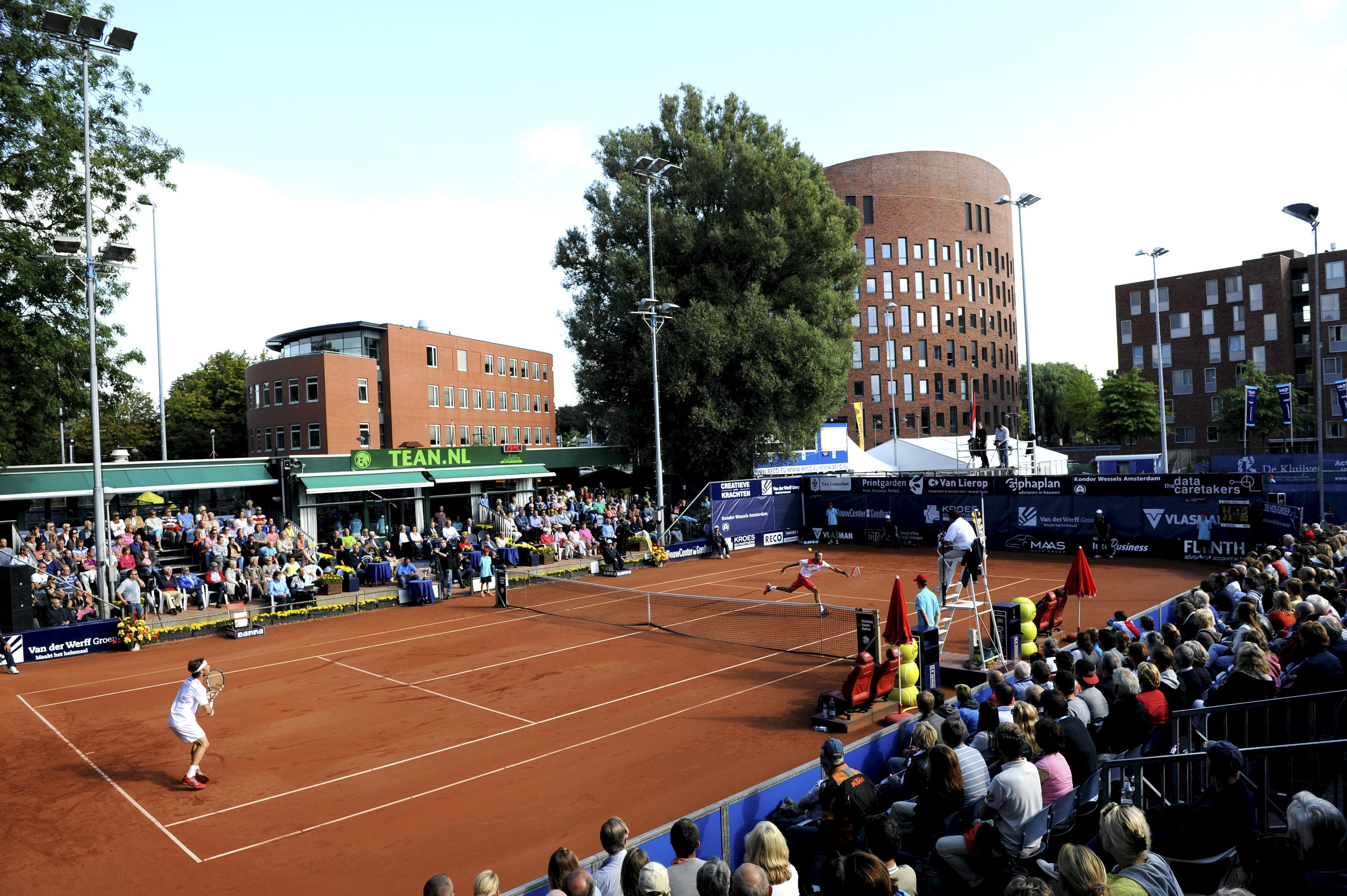 Tennisclubs in Alphen samen, TEAN verhuist