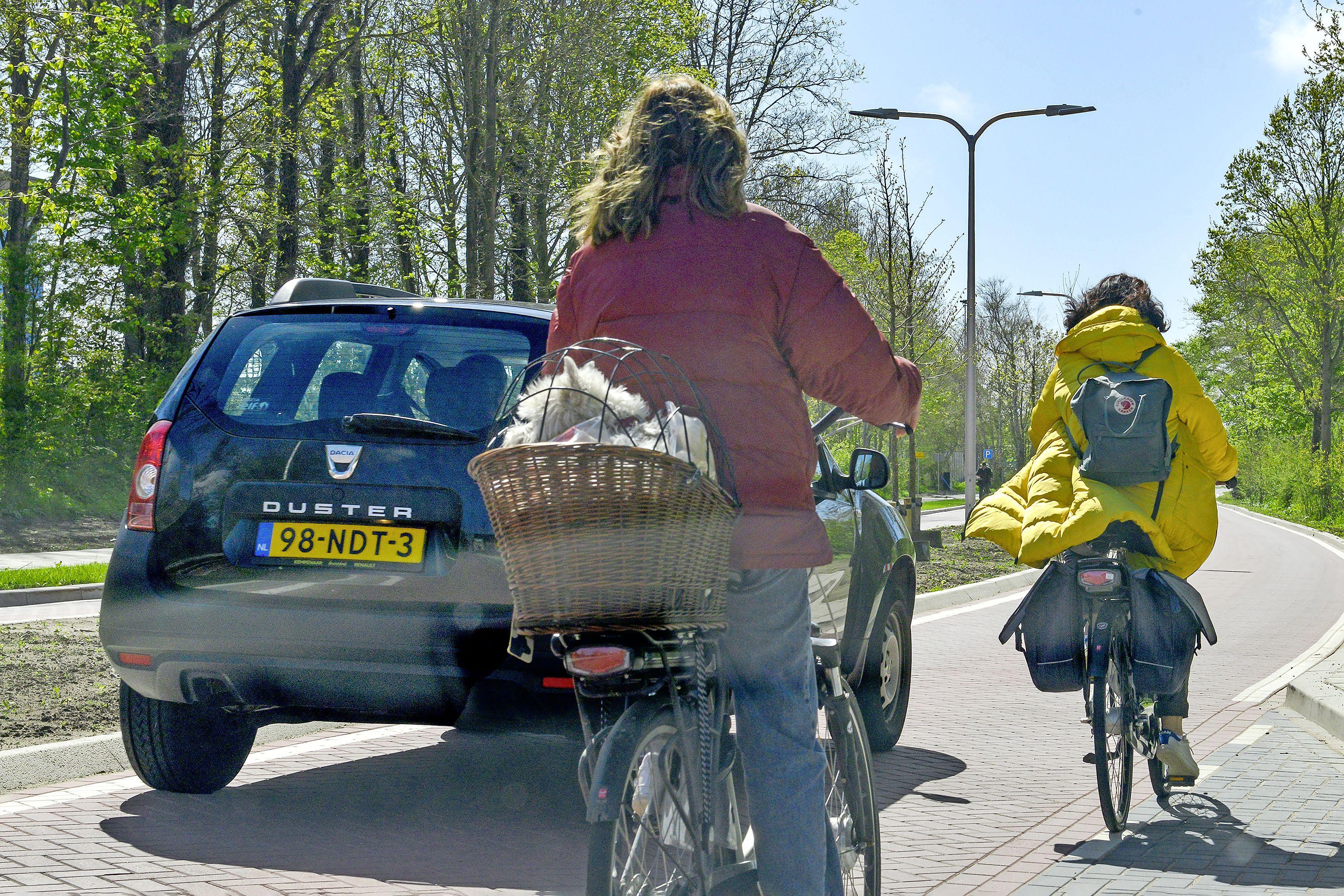 Fietsers moeten worden gered uit gevaarlijke fietsgoot